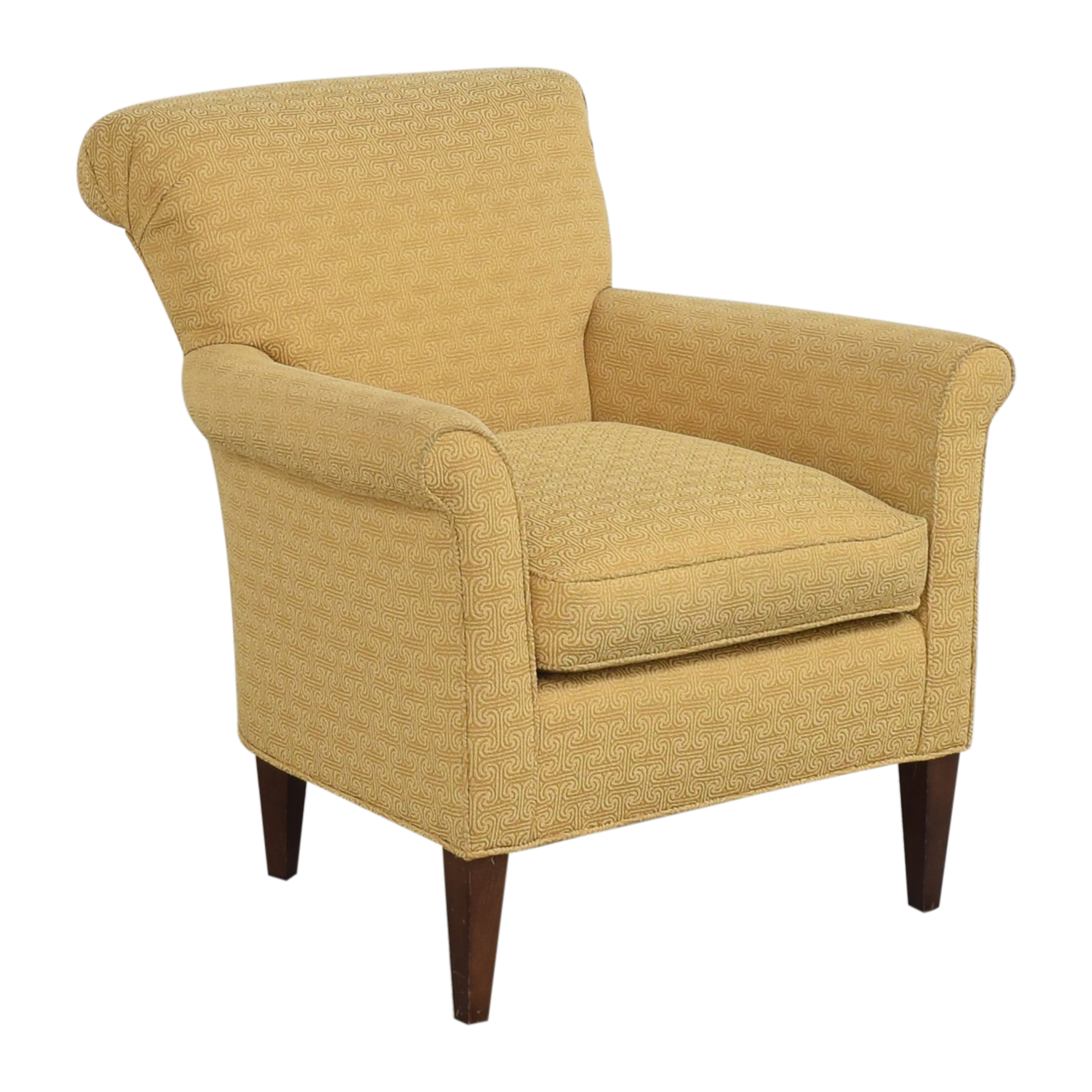 Ethan Allen Ethan Allen Scroll Back Accent Chair on sale