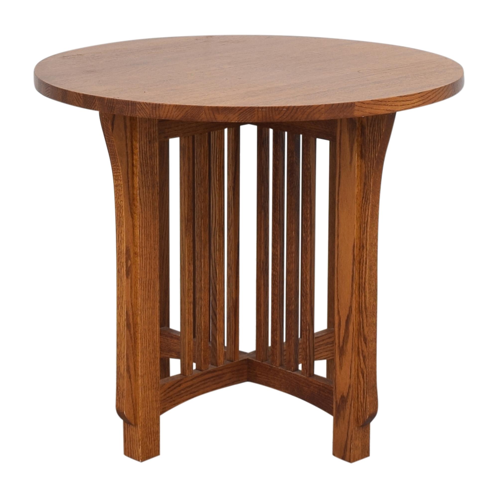 Restoration Hardware Michael's Furniture for Restoration Hardware Mission-Style Side Table price