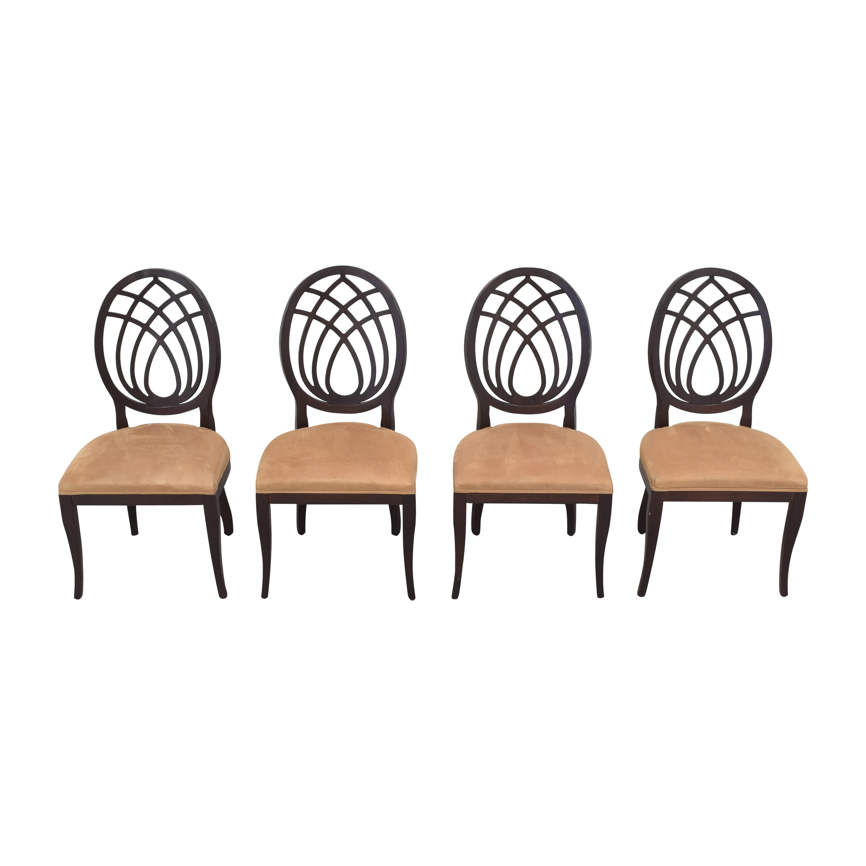 Bombay Company Bombay Company Oval Back Dining Side Chairs nyc