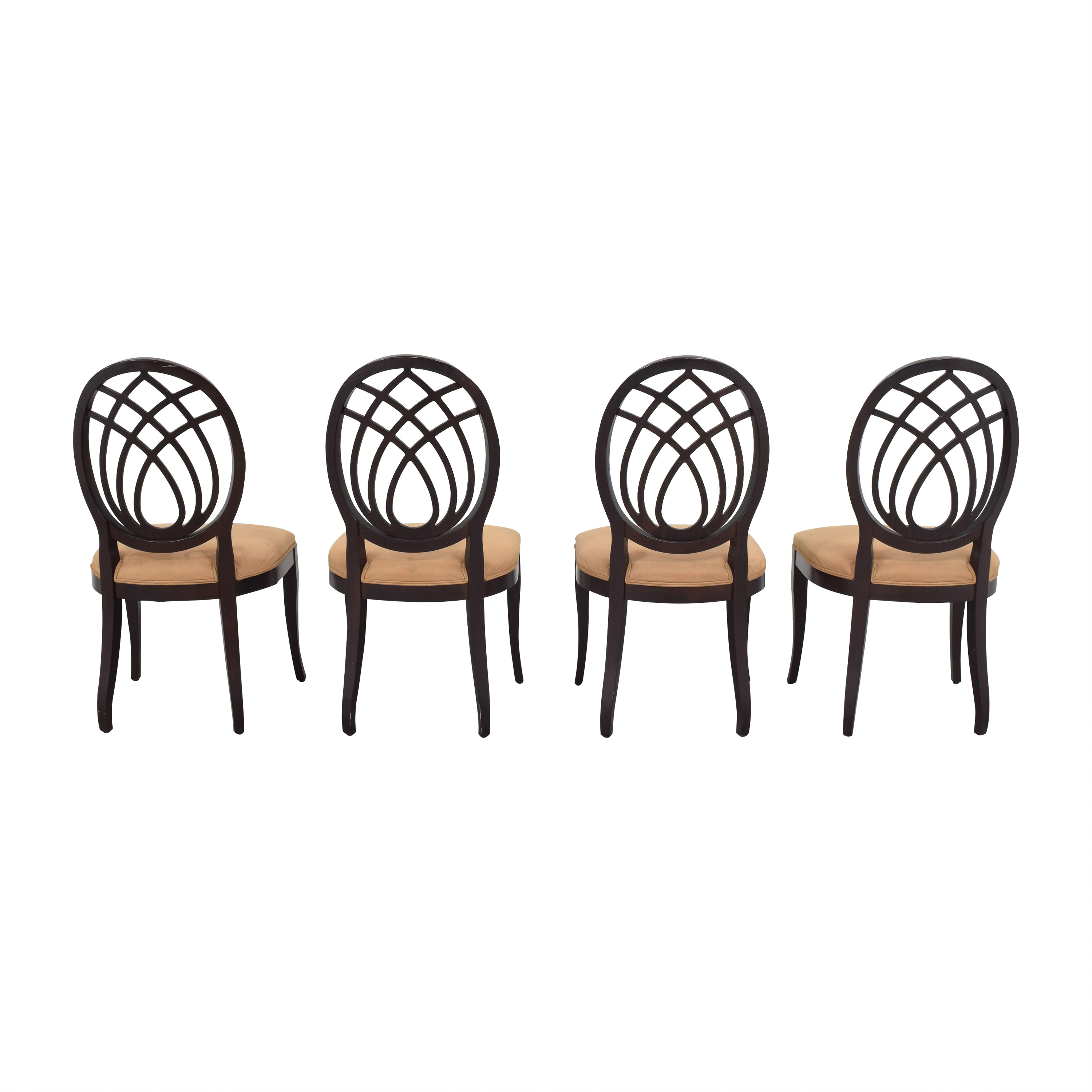 Bombay Company Bombay Company Oval Back Dining Side Chairs coupon