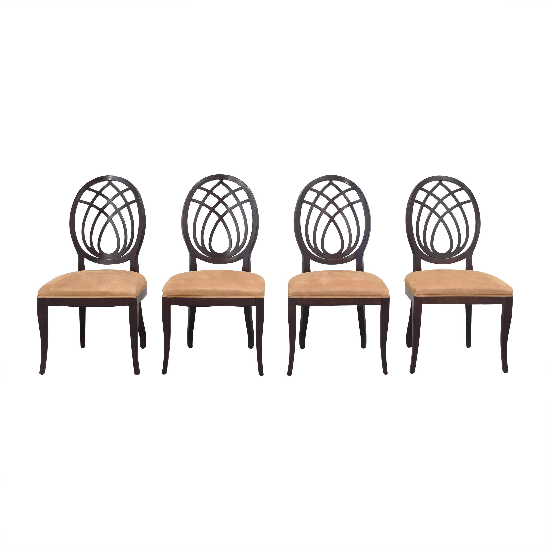 Bombay Company Oval Back Dining Side Chairs Bombay Company
