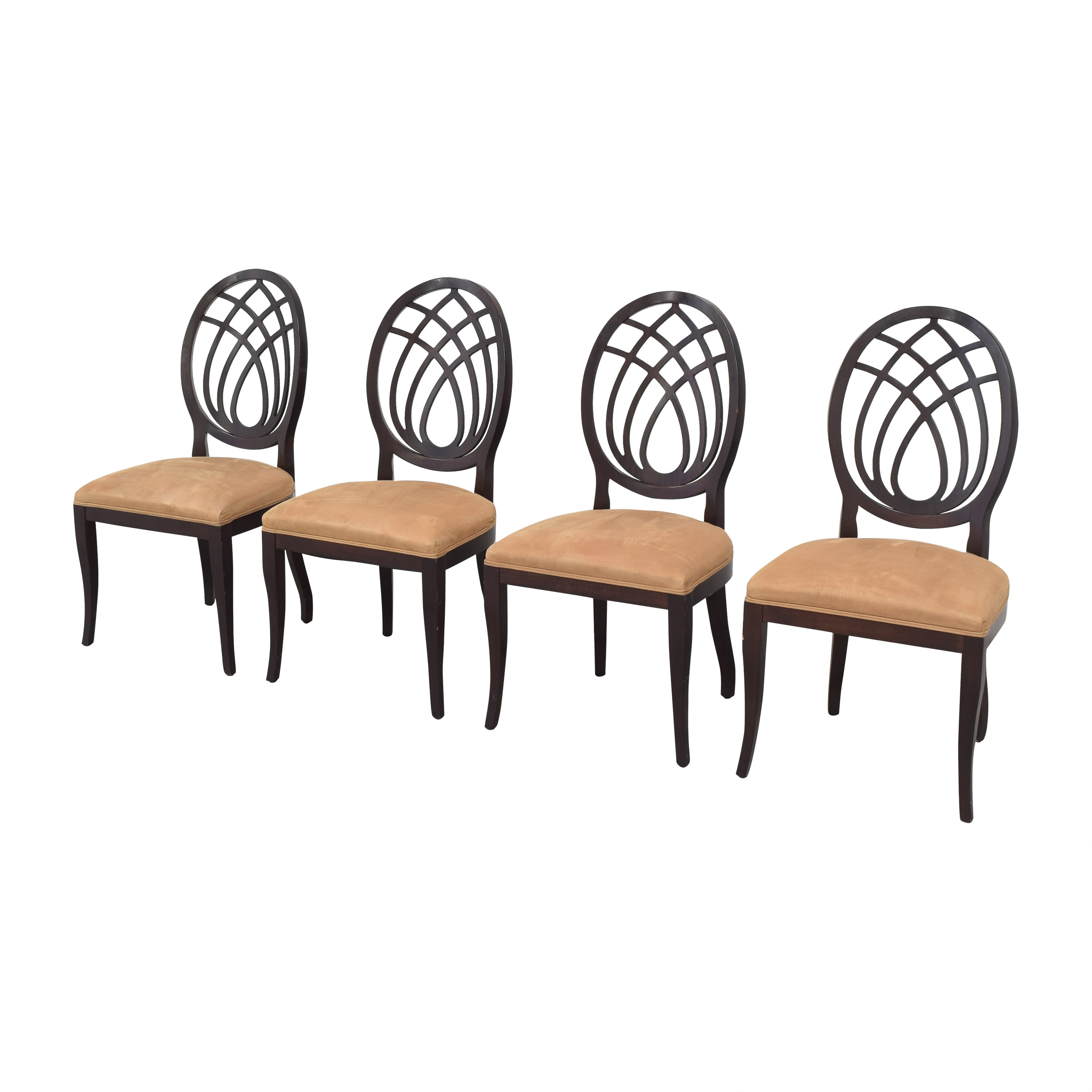 shop Bombay Company Oval Back Dining Side Chairs Bombay Company Chairs
