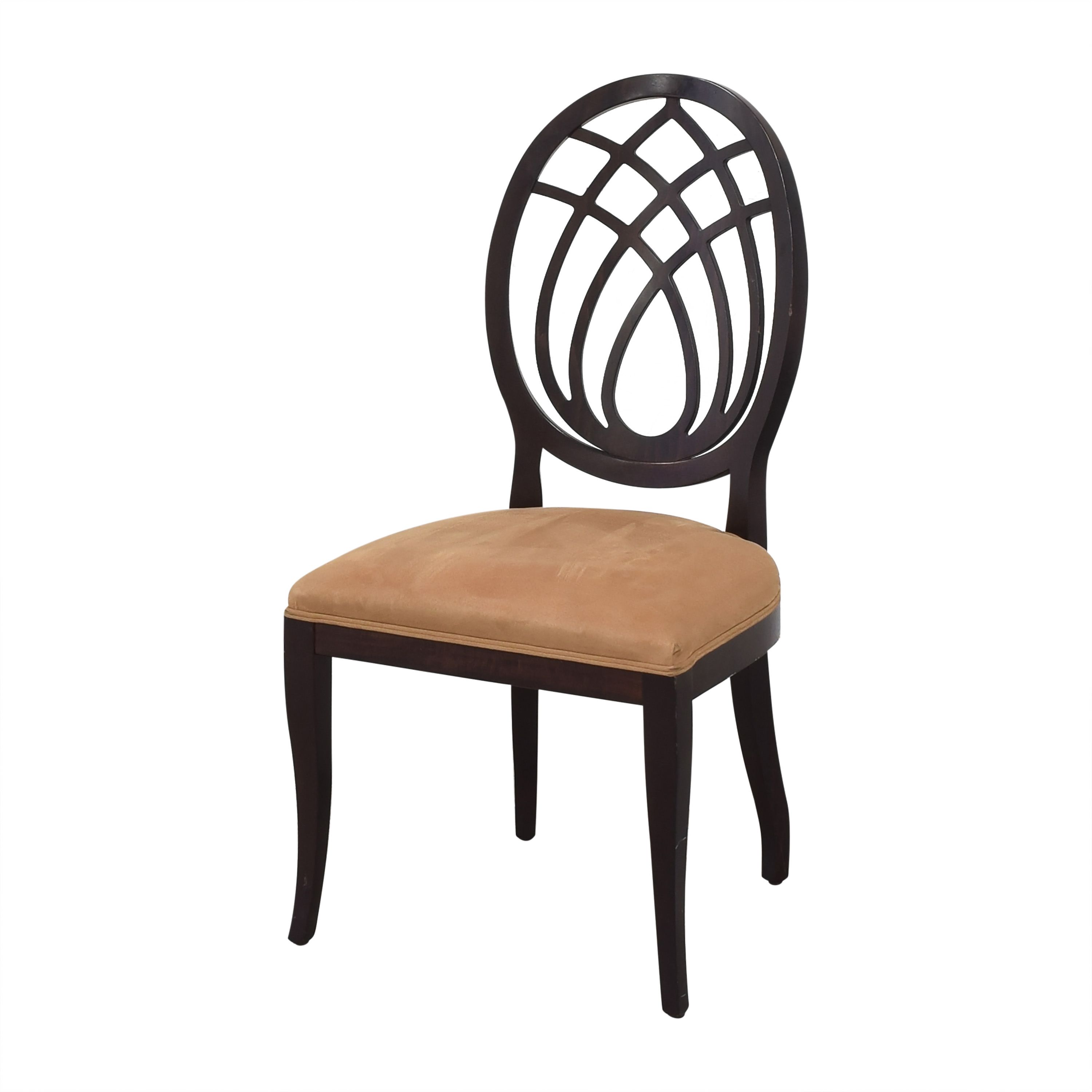 Bombay Company Oval Back Dining Side Chairs sale