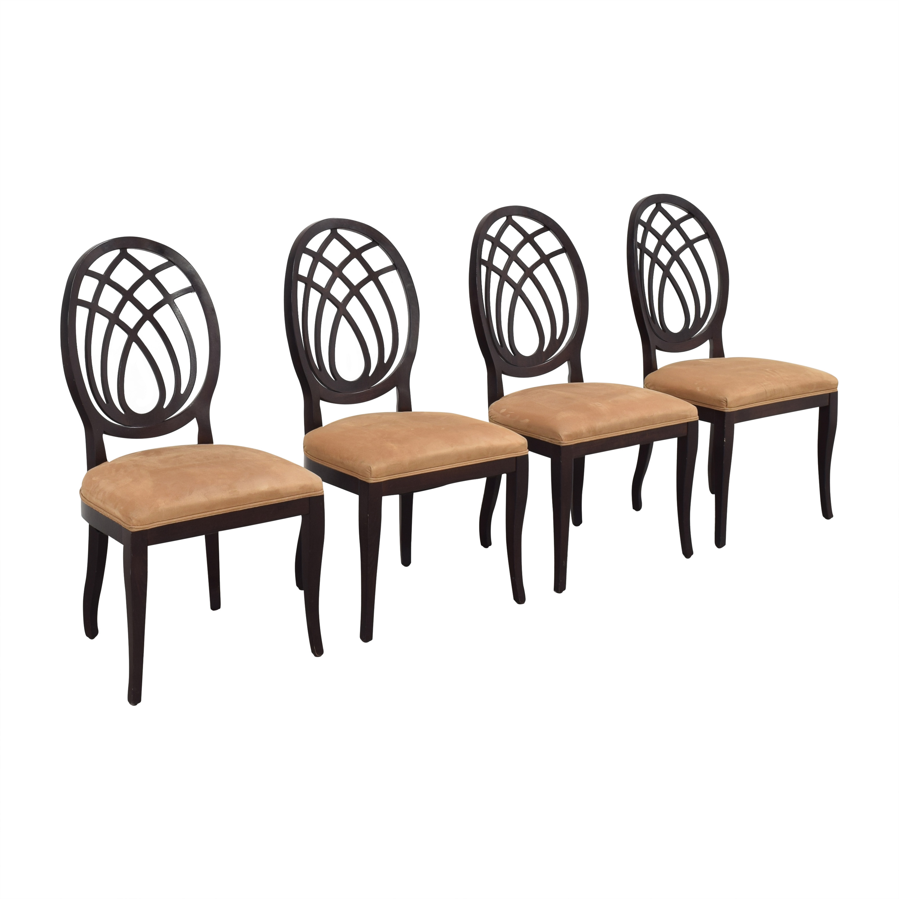 Bombay Company Bombay Company Oval Back Dining Side Chairs discount