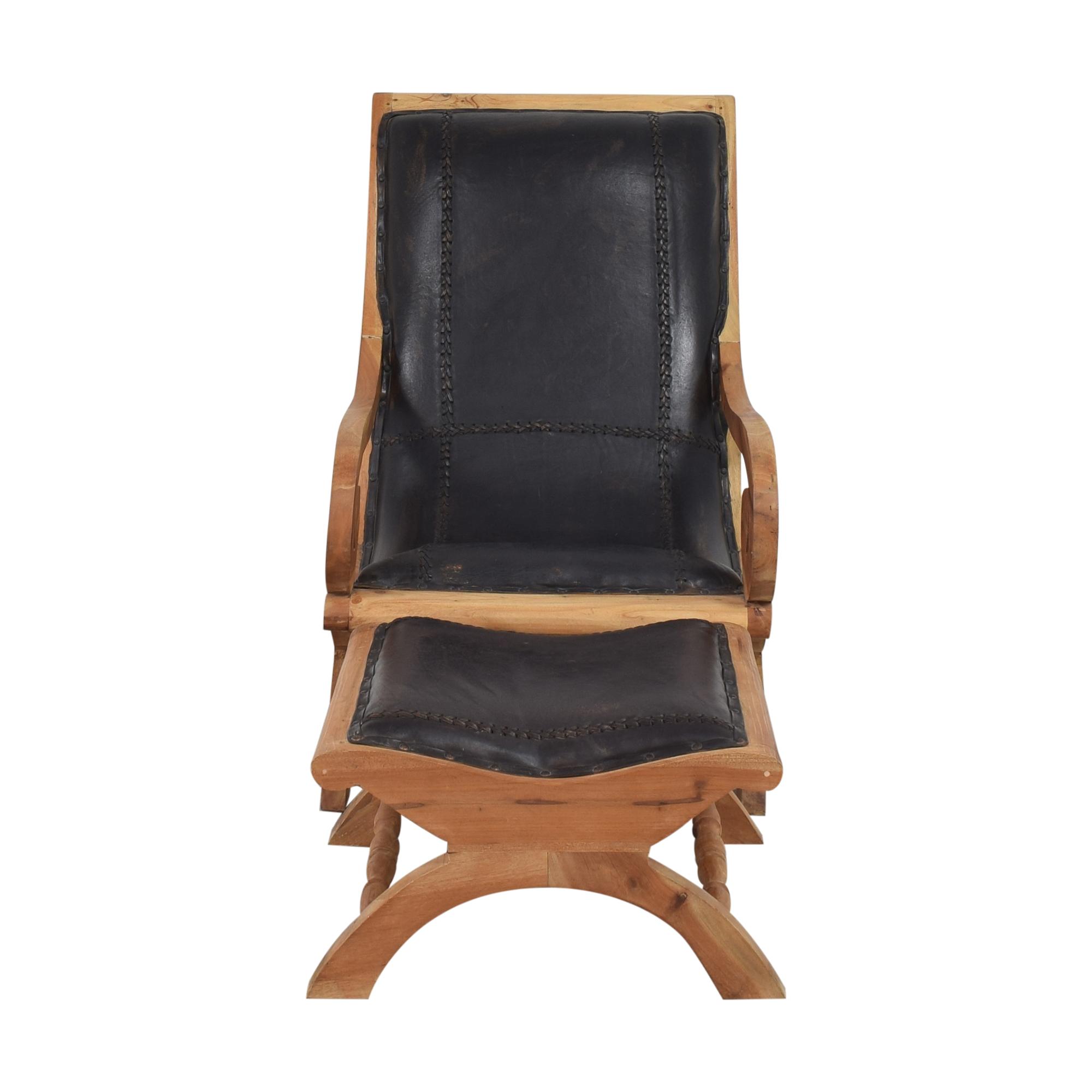 UMA Stetson Chair and Ottoman / Chairs