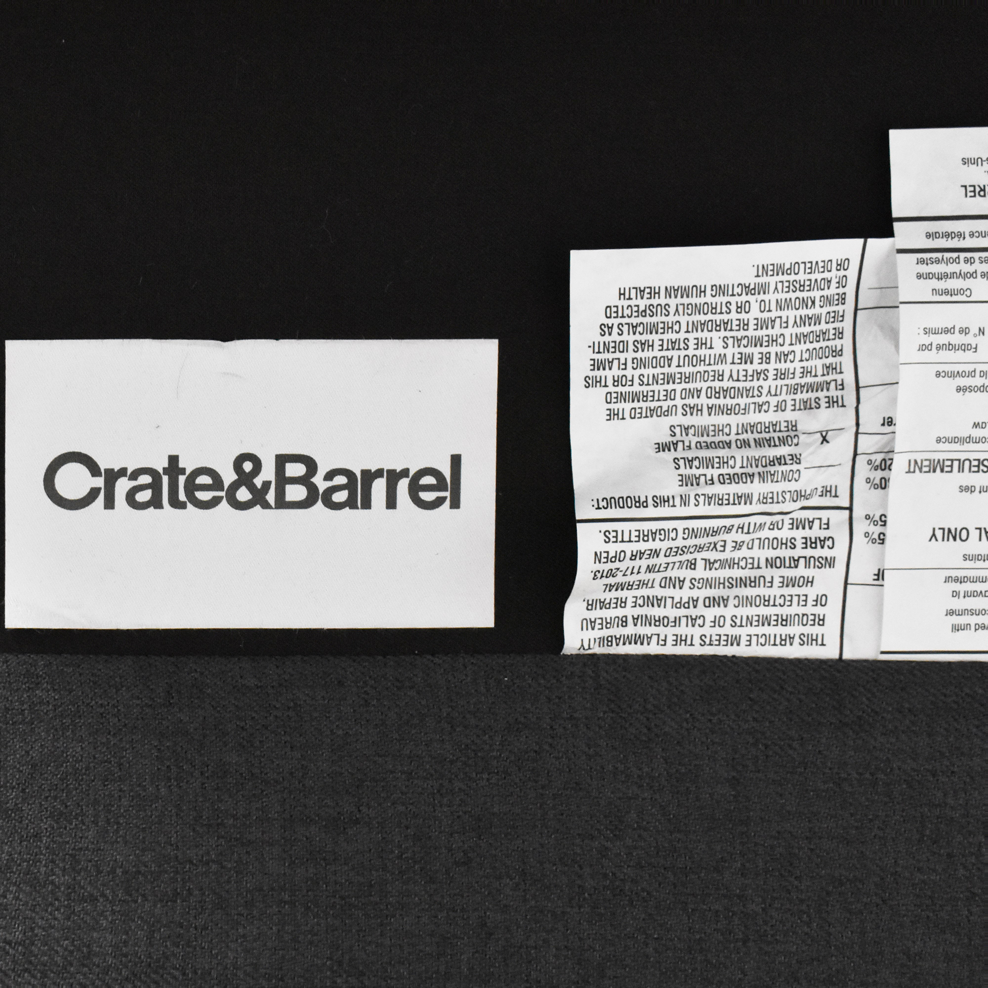 buy Crate & Barrel Petrie Midcentury Armless Chair Crate & Barrel Chairs