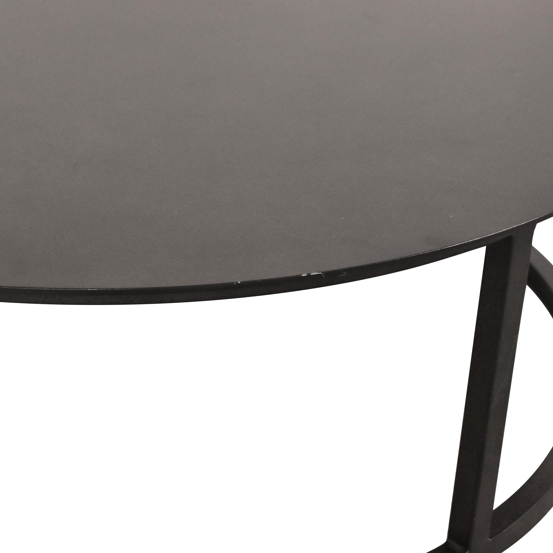 buy Restoration Hardware Mercer Round Coffee Table Restoration Hardware Tables