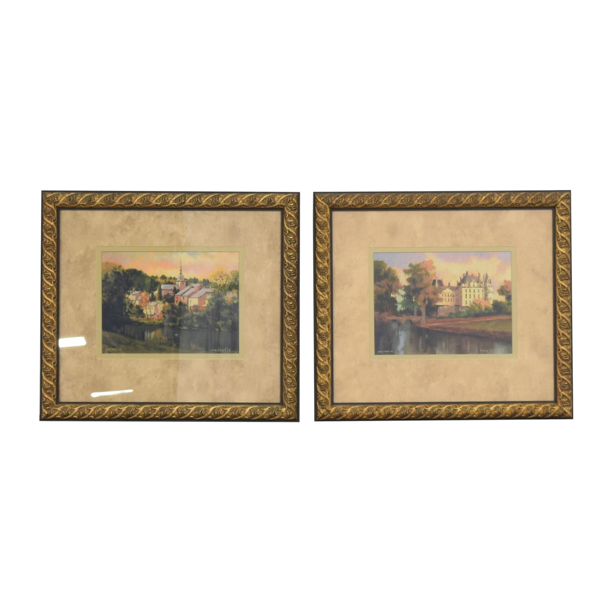 Ethan Allen Ethan Allen Hayslette Framed Prints Wall Art coupon