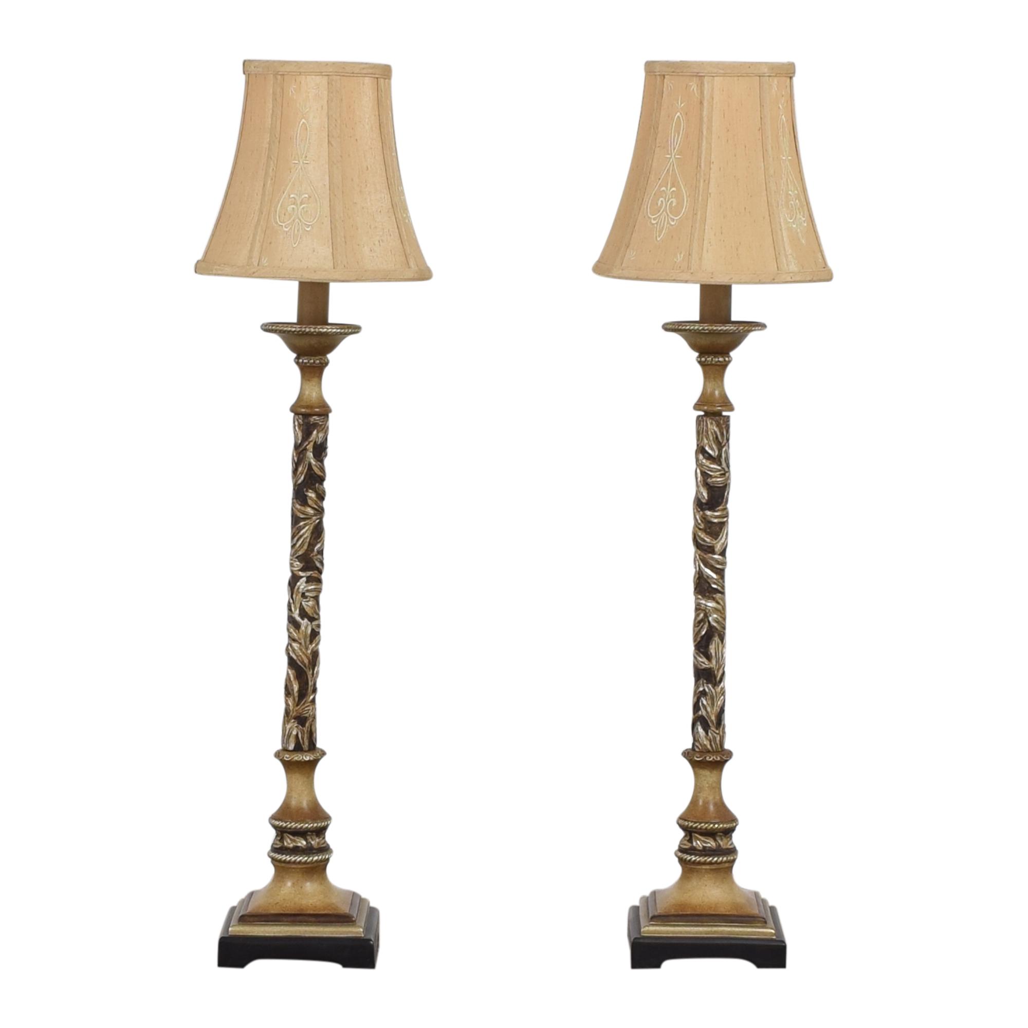 shop Minka Salon Grand Console Table Lamps Minka