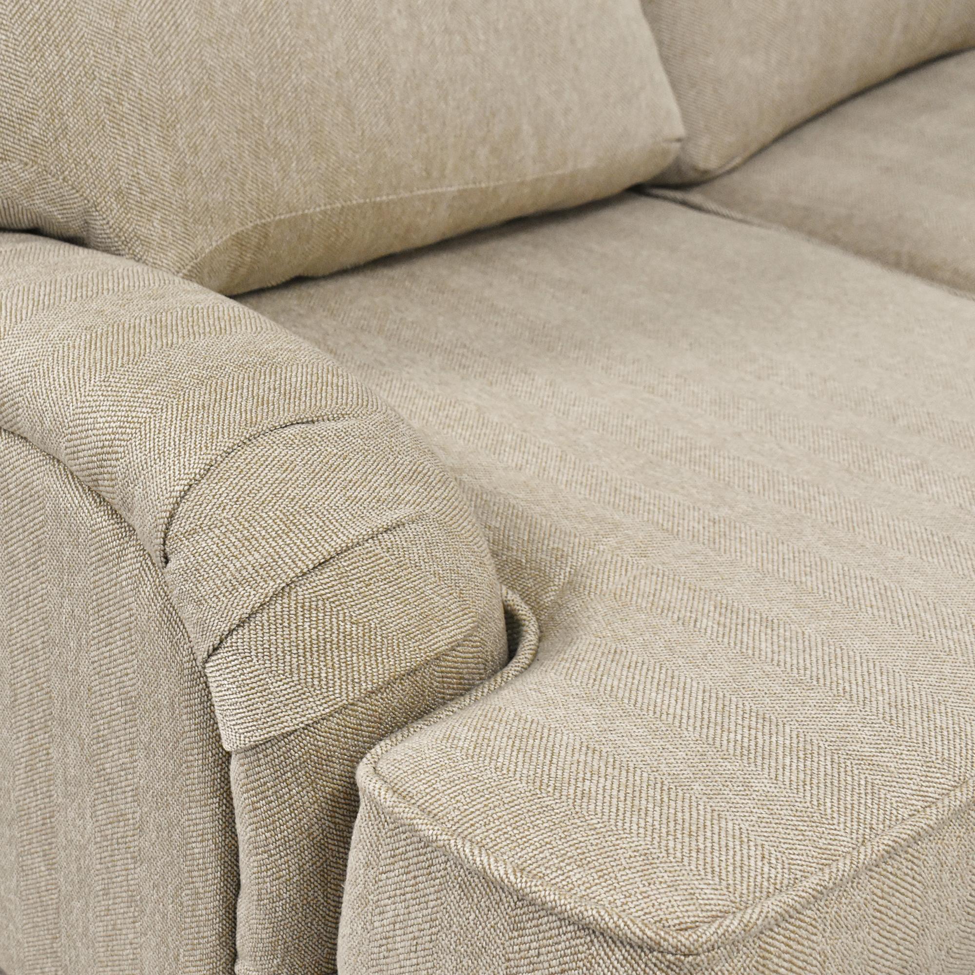Corinthian Corinthian English Roll Arm Sofa Sofas