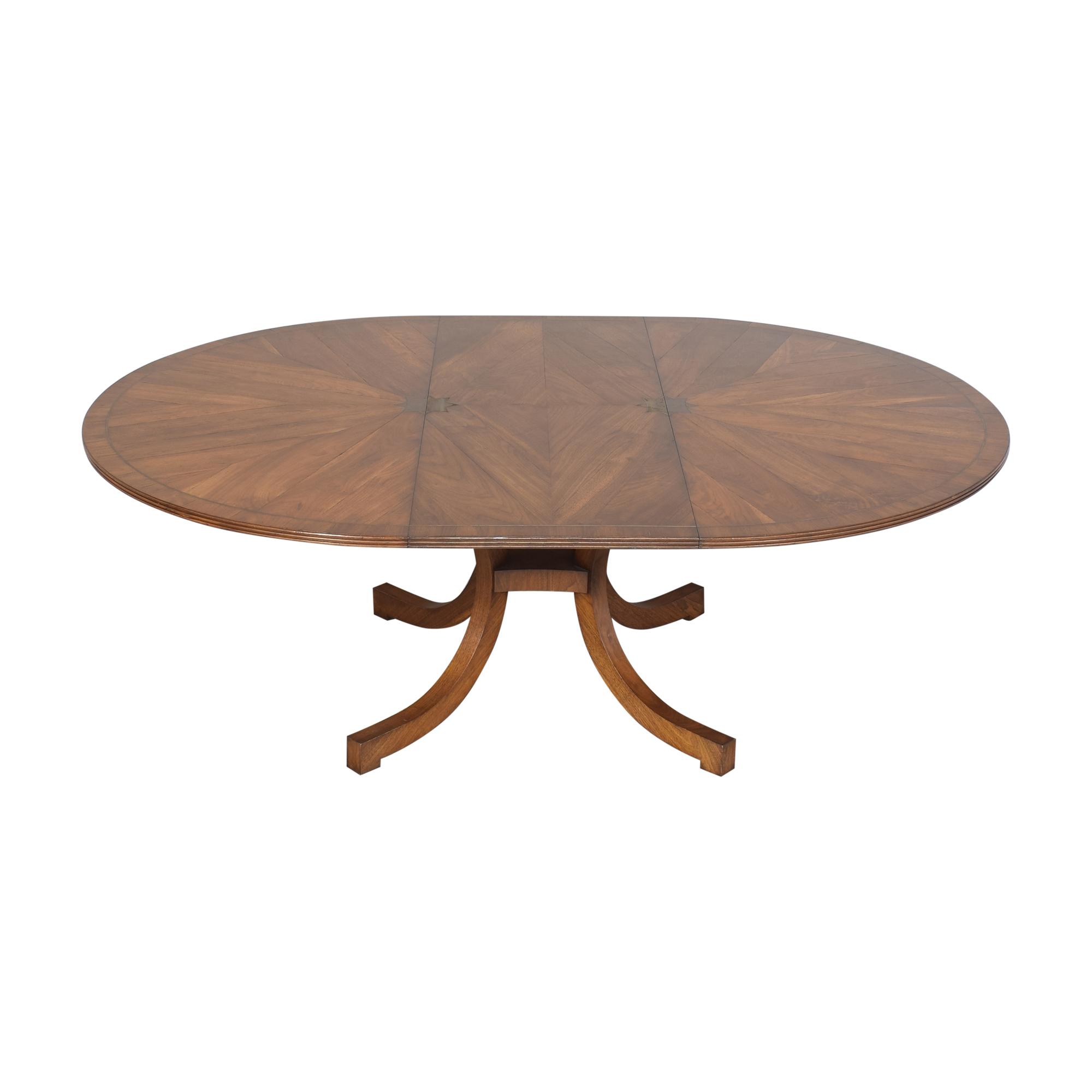 New Classics New Classics Custom Wide C-Leg Table ct