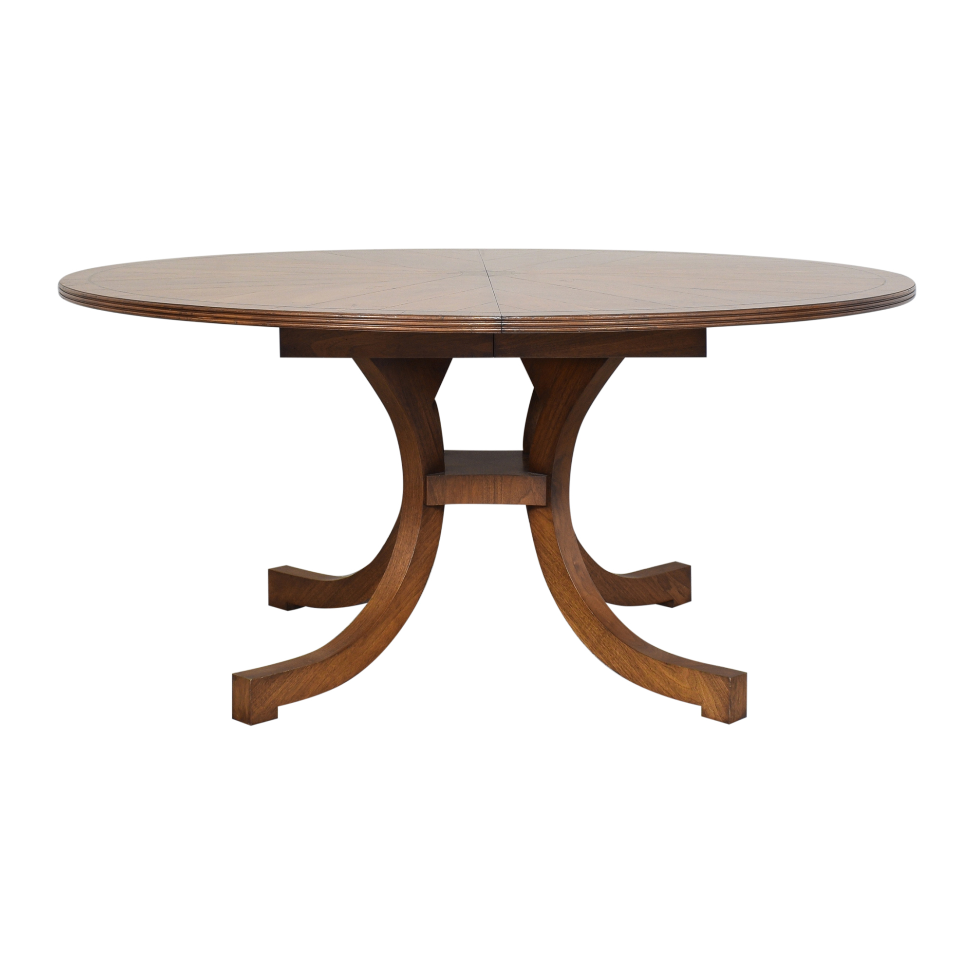buy New Classics Custom Wide C-Leg Table New Classics Dinner Tables