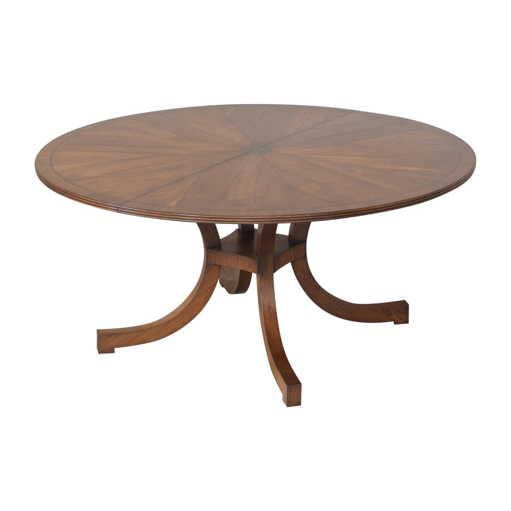 New Classics New Classics Custom Wide C-Leg Table ma