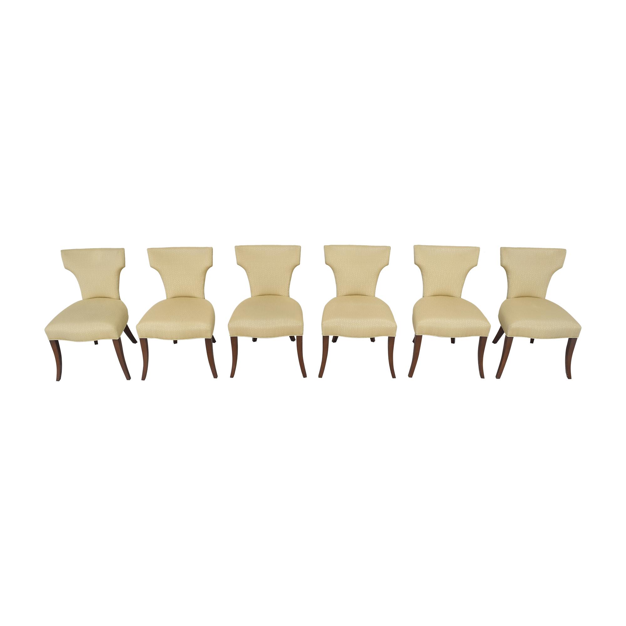 Ferrell Mittman Ferrell Mittman Custom Wing Dining Chairs on sale