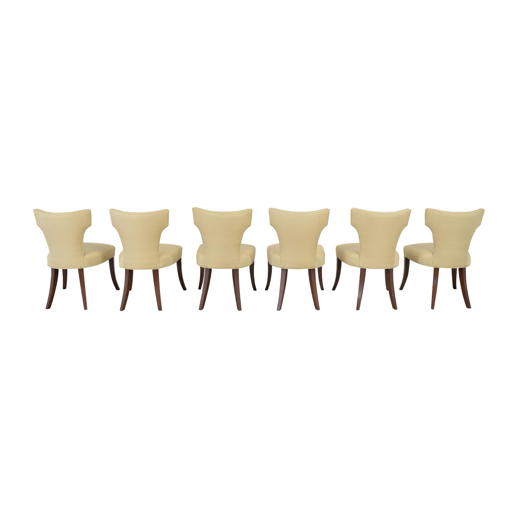 Ferrell Mittman Ferrell Mittman Custom Wing Dining Chairs used