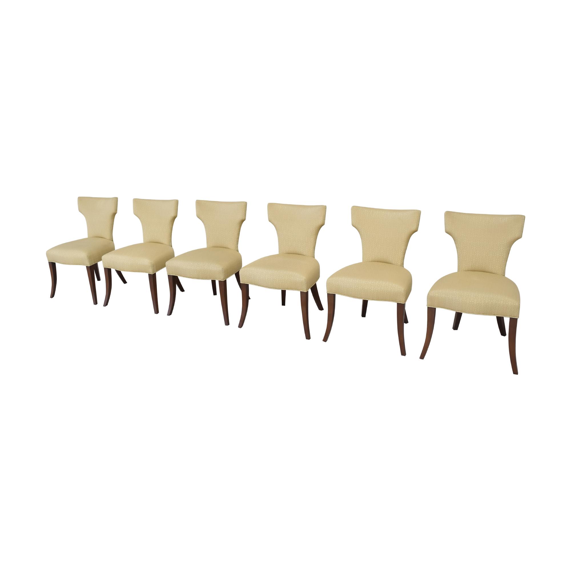 shop Ferrell Mittman Custom Wing Dining Chairs Ferrell Mittman
