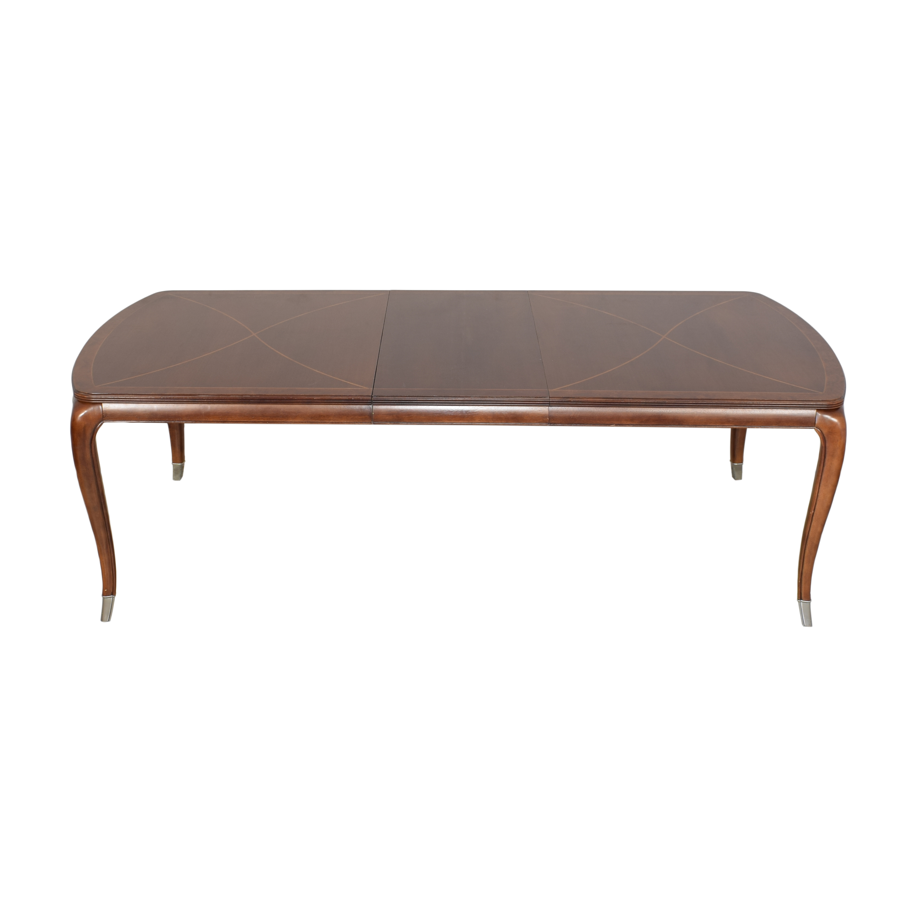 shop Thomasville Bogart Collection Extendable Dining Table Thomasville