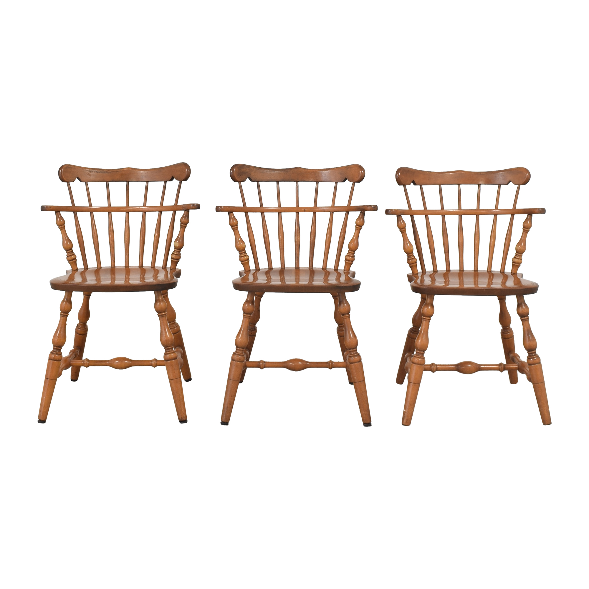 S. Bent & Bros S. Bent & Bros Colonial Windsor Dining Chairs on sale