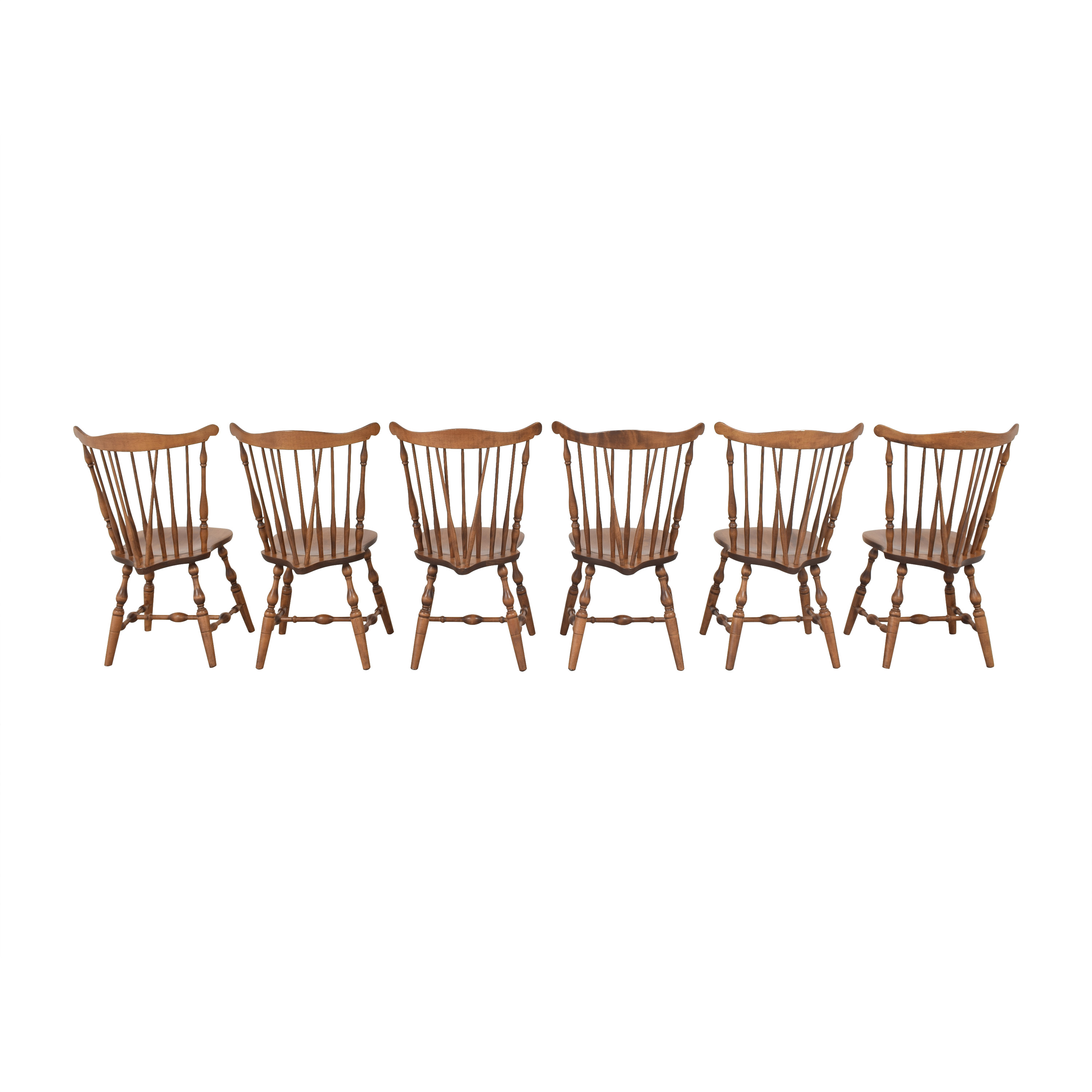 shop S. Bent & Bros Brace Back Windsor Dining Side Chairs S. Bent & Bros Dining Chairs