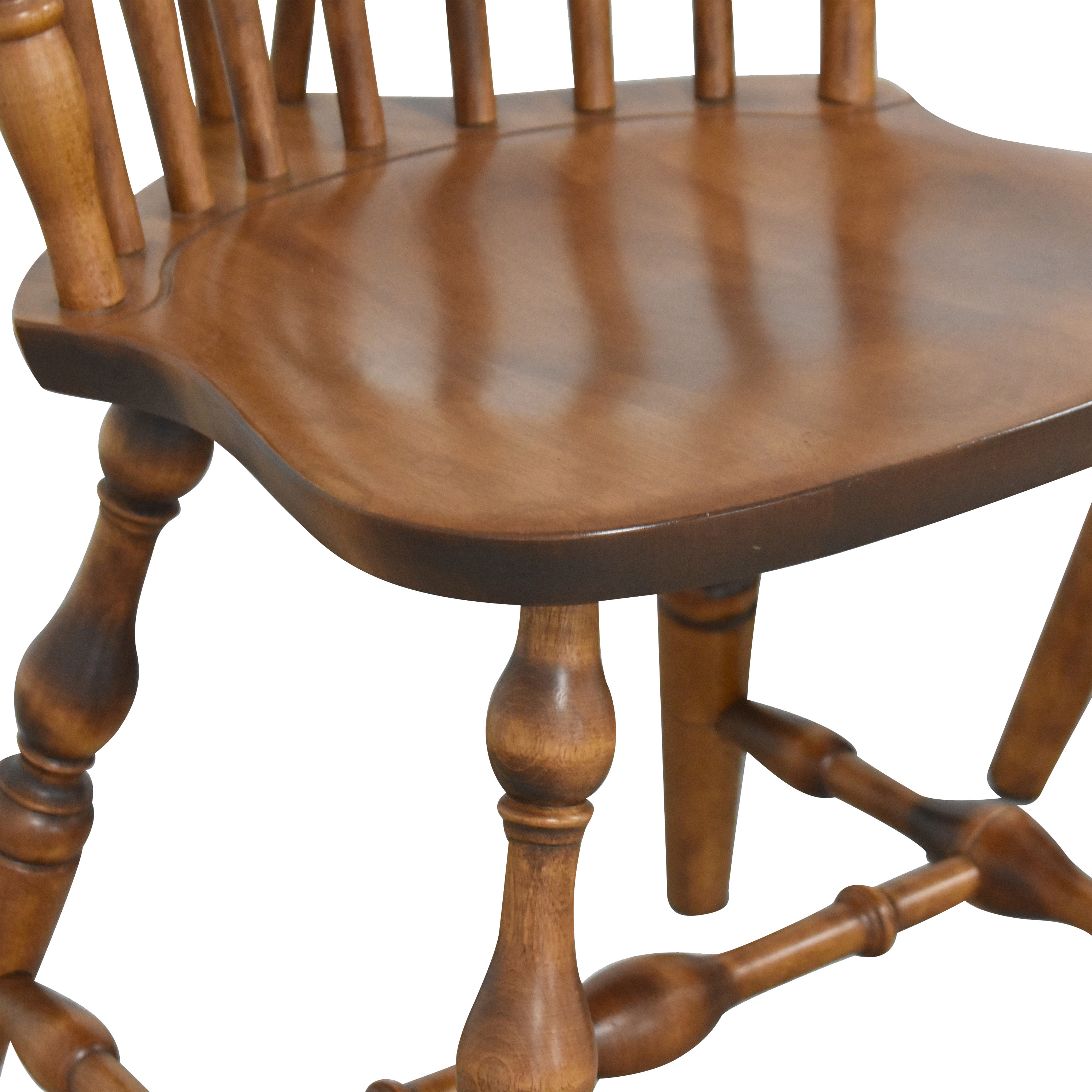 S. Bent & Bros S. Bent & Bros Brace Back Windsor Dining Side Chairs price