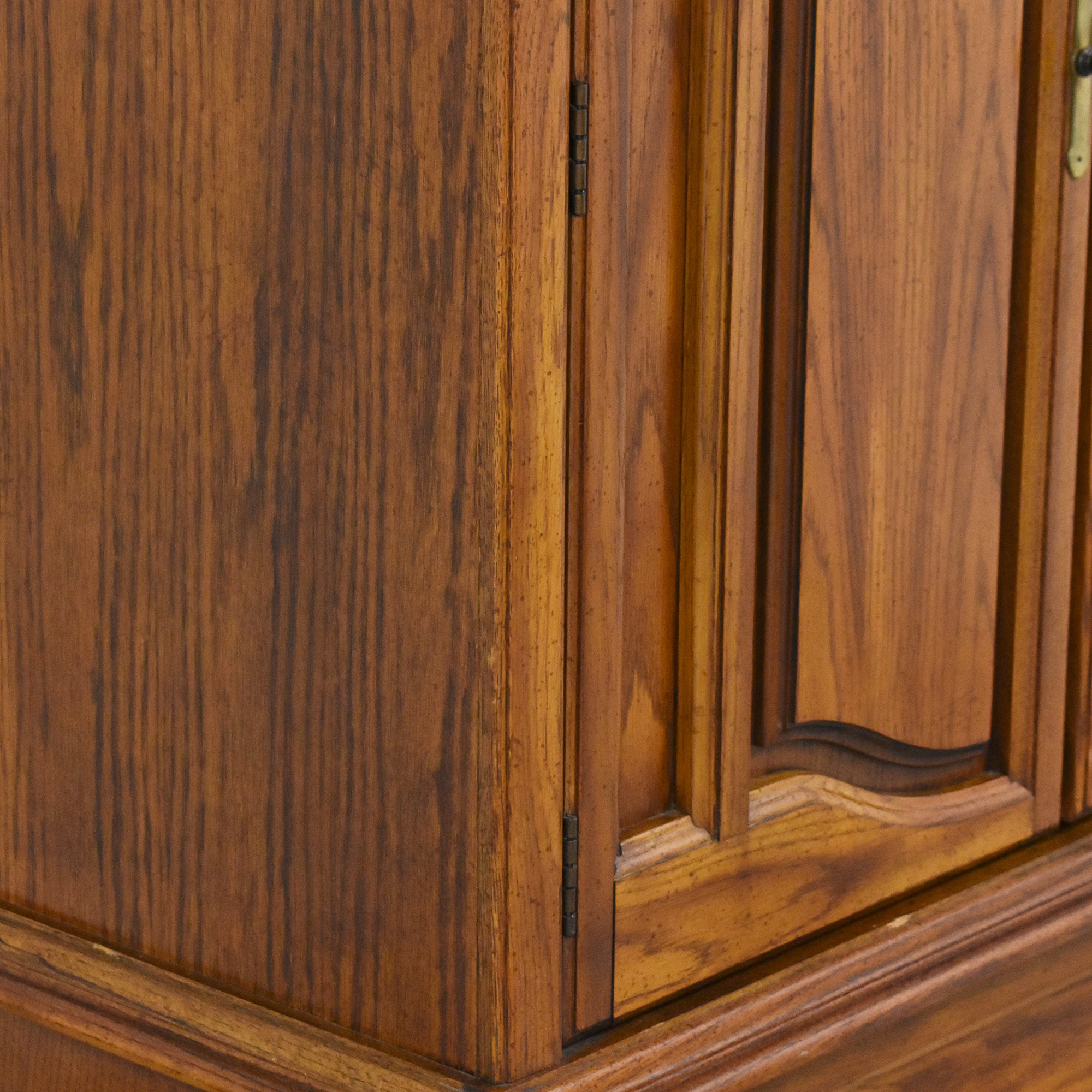 Bassett Furniture Basset Three Drawer Armoire Storage