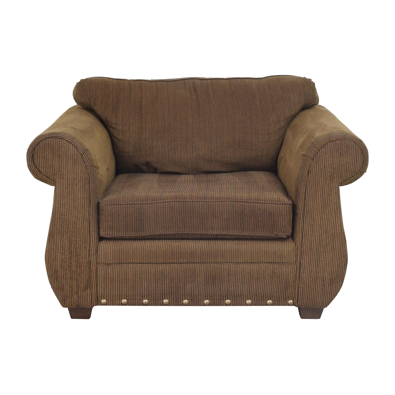 Raymour & Flanigan Raymour & Flanigan Striped Chair pa