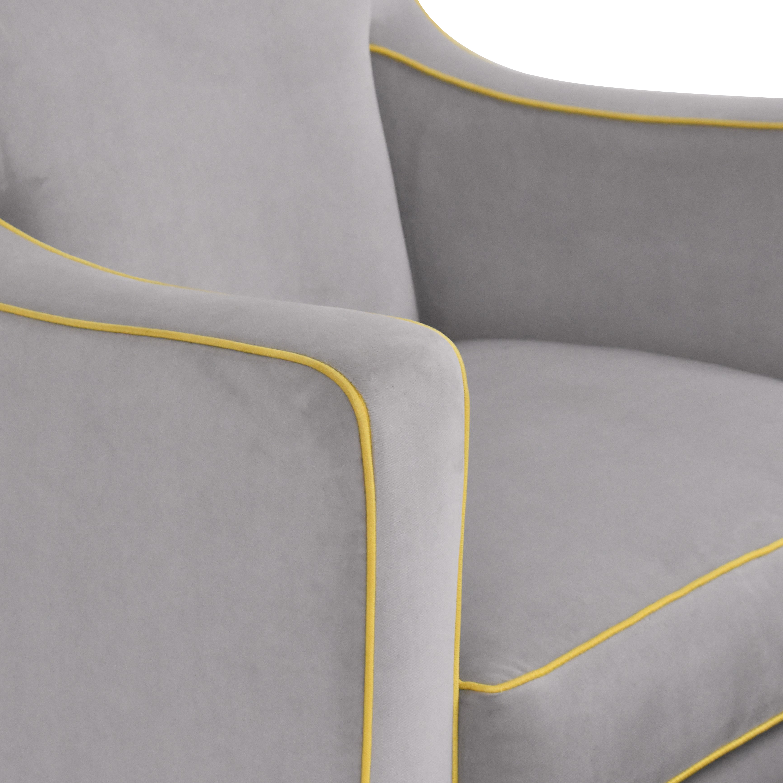 Monte Design Luca Glider with Ottoman / Chairs