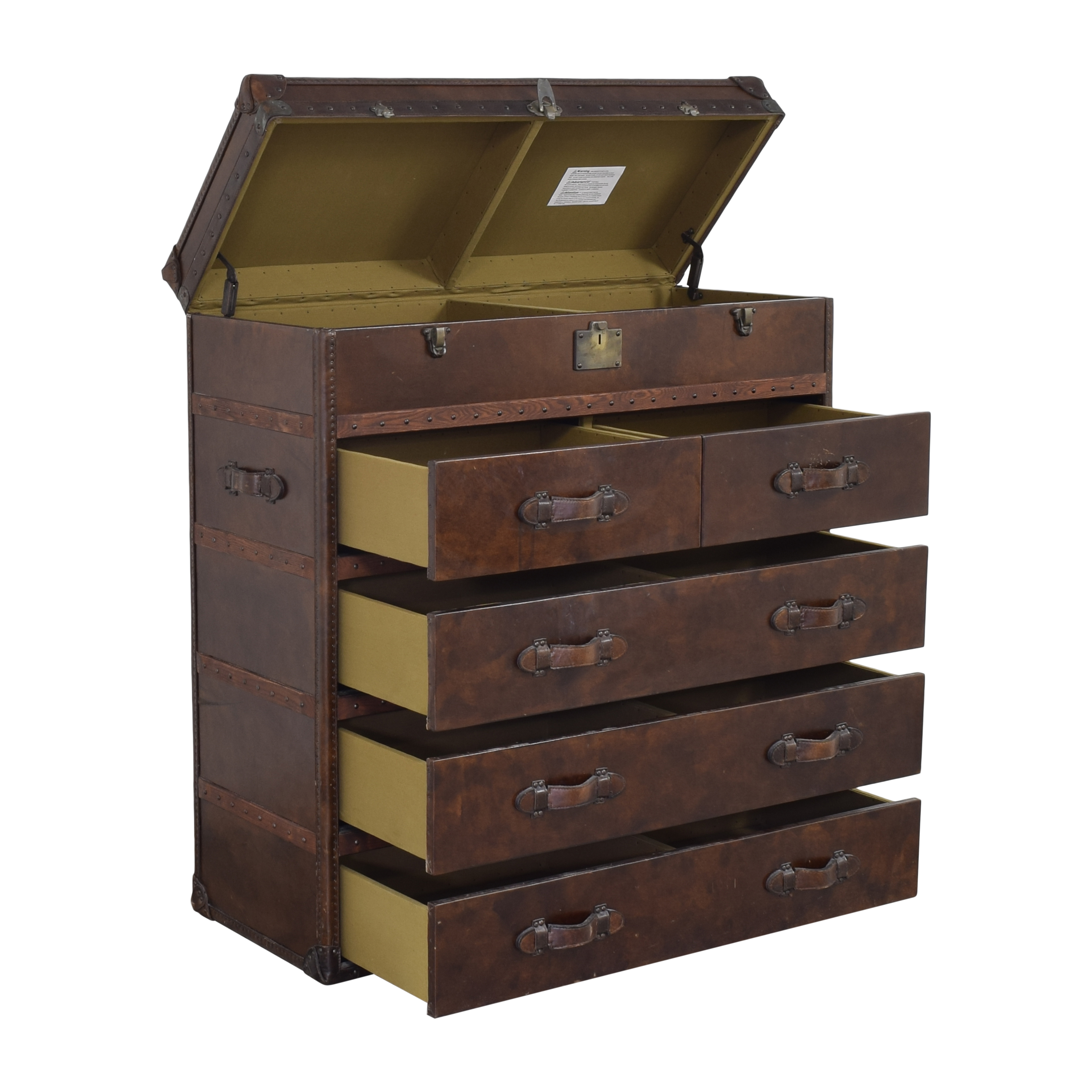 Restoration Hardware Restoration Hardware Mayfair Steamer Trunk Chest  coupon