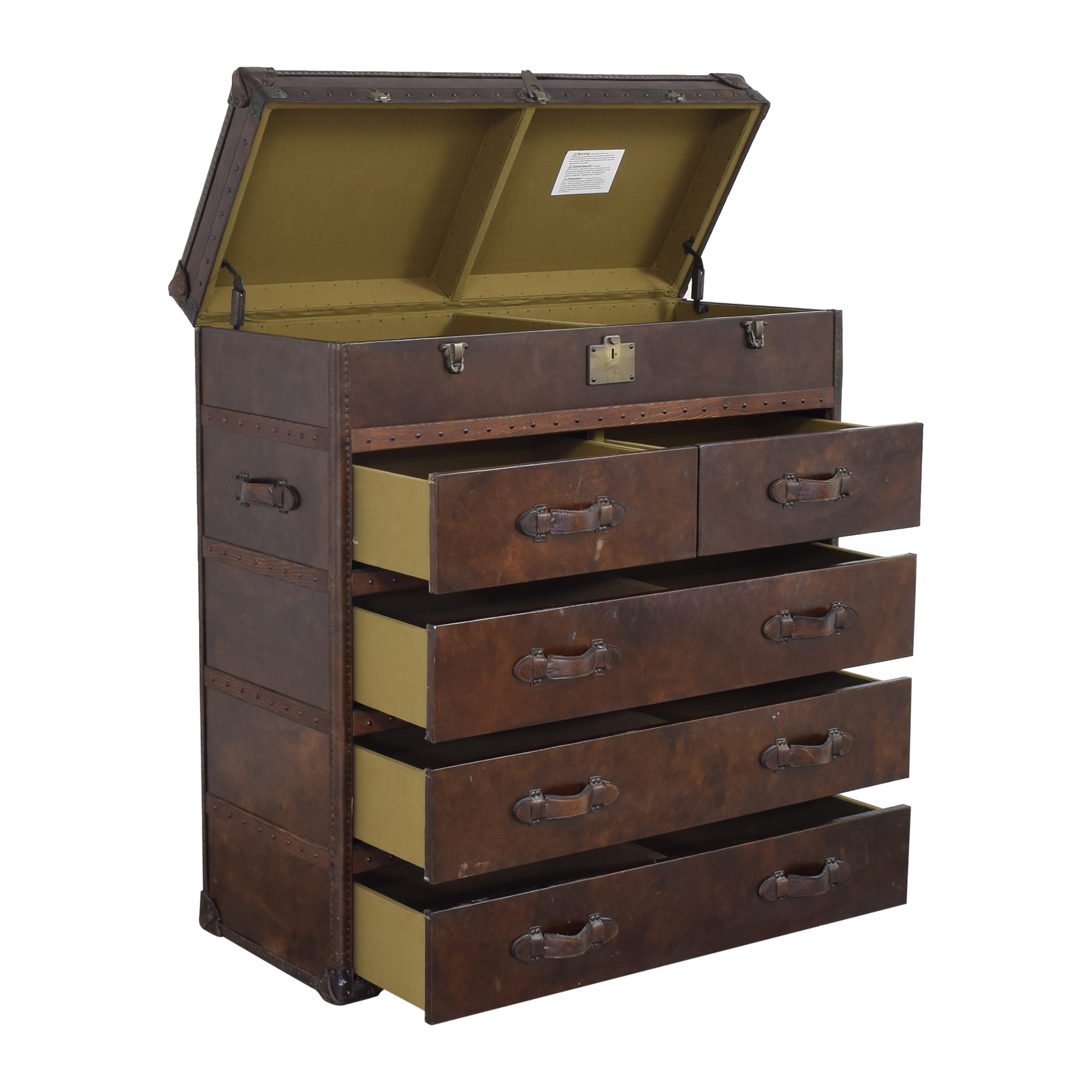 Restoration Hardware Restoration Hardware Mayfair Steamer Trunk Chest on sale