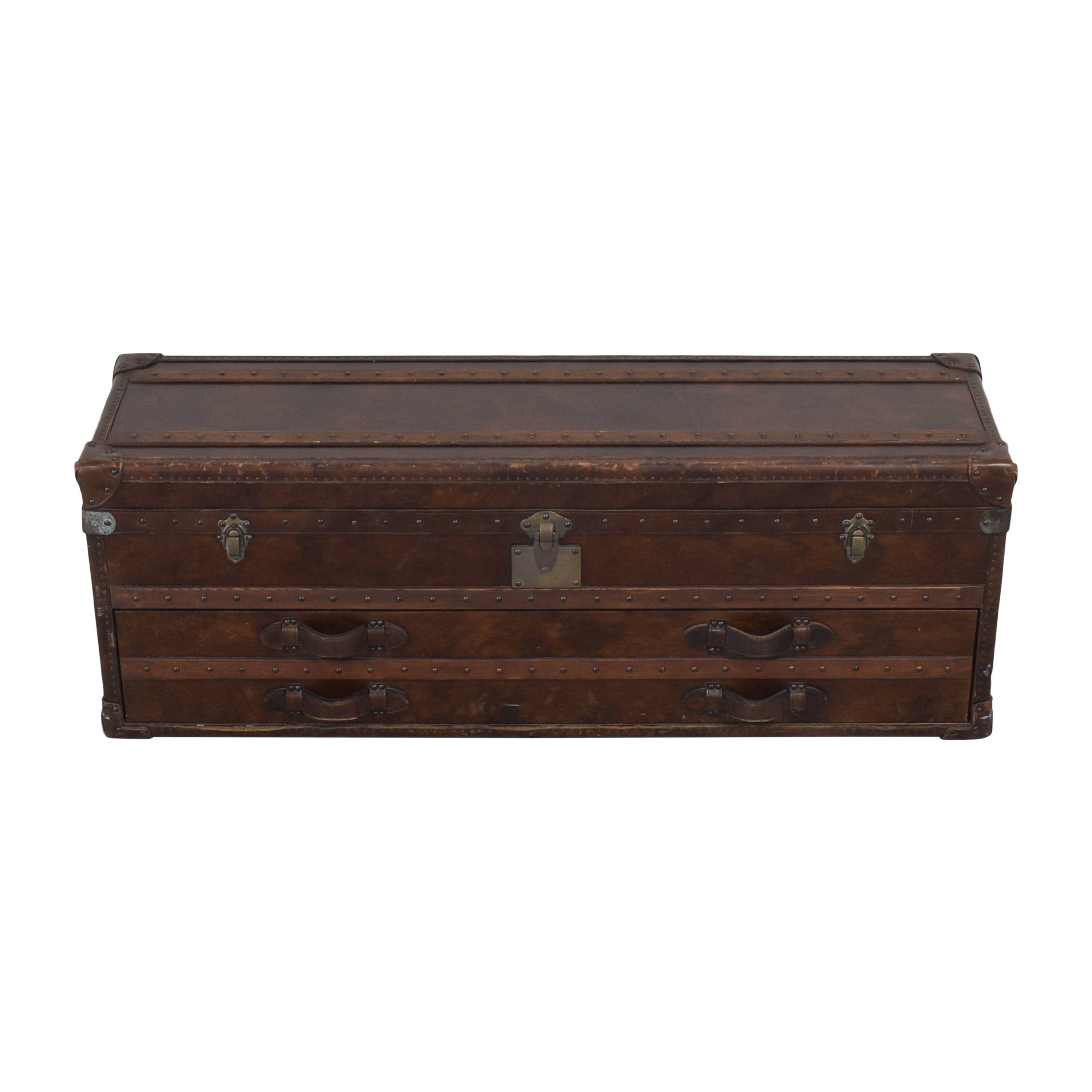Restoration Hardware Restoration Hardware Mayfair Steamer Trunk Low Chest on sale