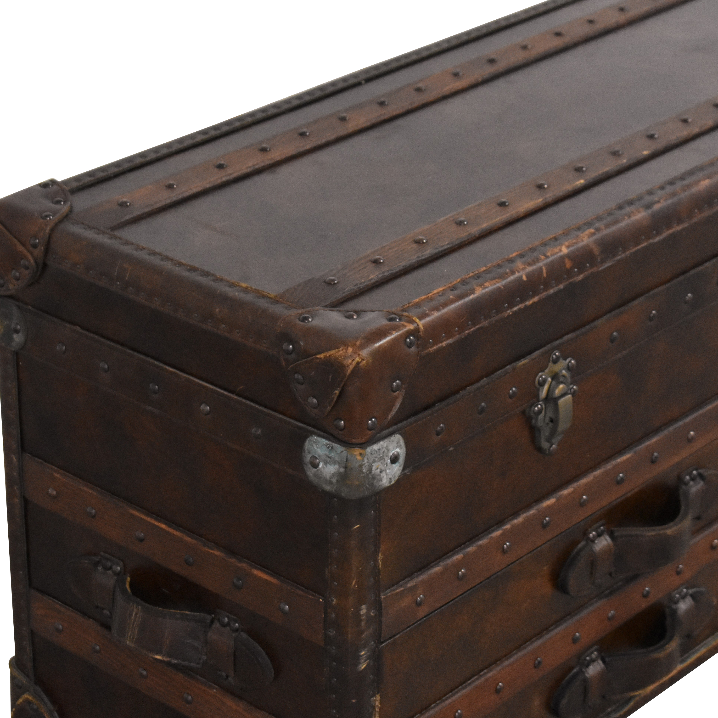 Restoration Hardware Restoration Hardware Mayfair Steamer Trunk Low Chest used