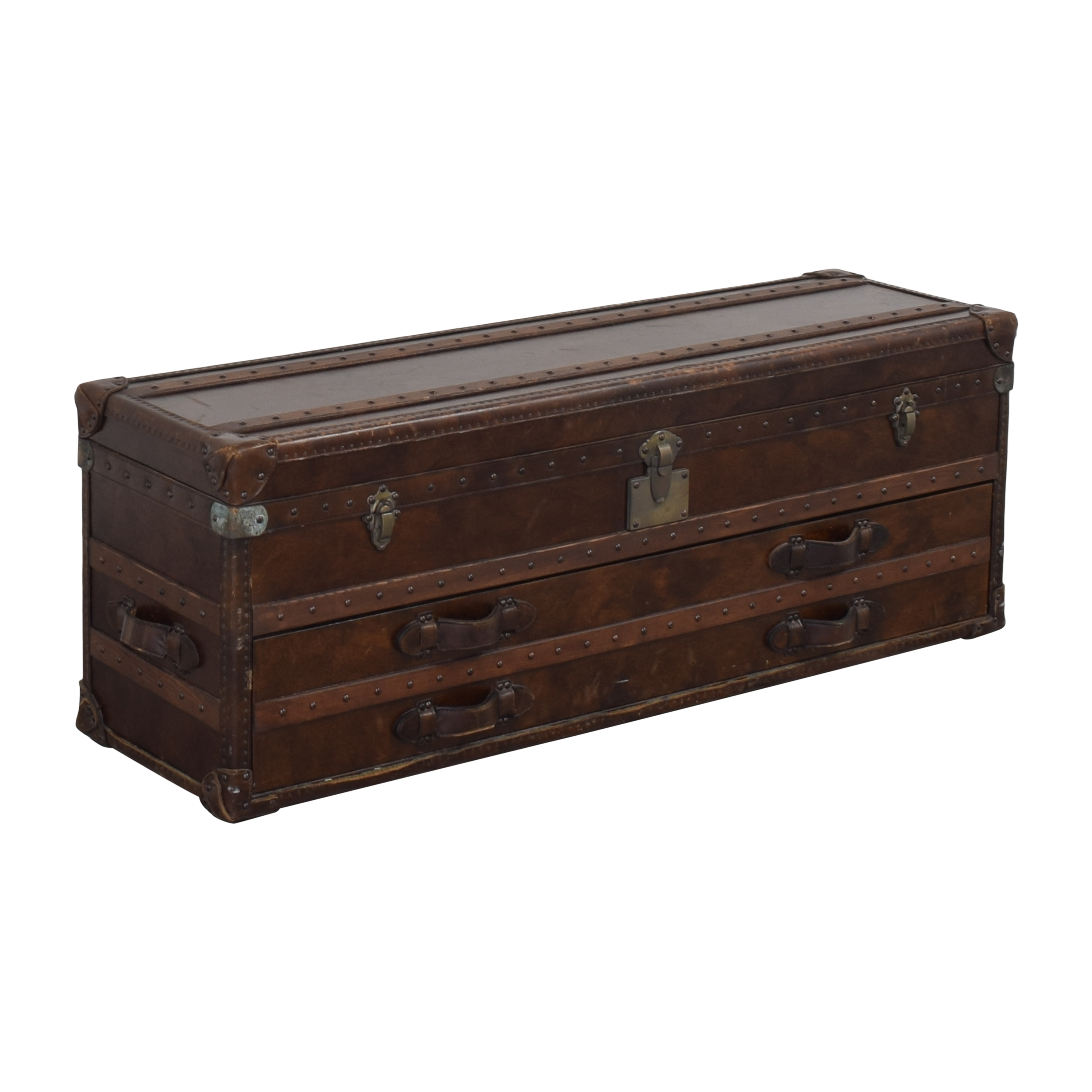 Restoration Hardware Restoration Hardware Mayfair Steamer Trunk Low Chest price