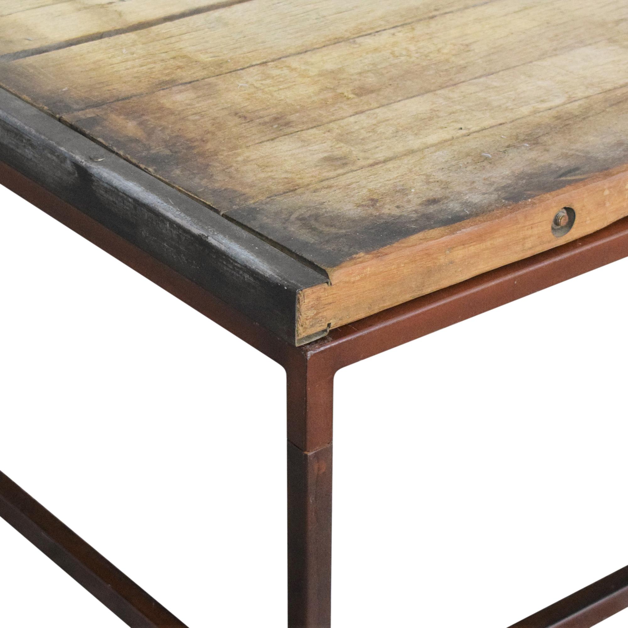 buy Restoration Hardware Brickmaker's Coffee Table Restoration Hardware Coffee Tables