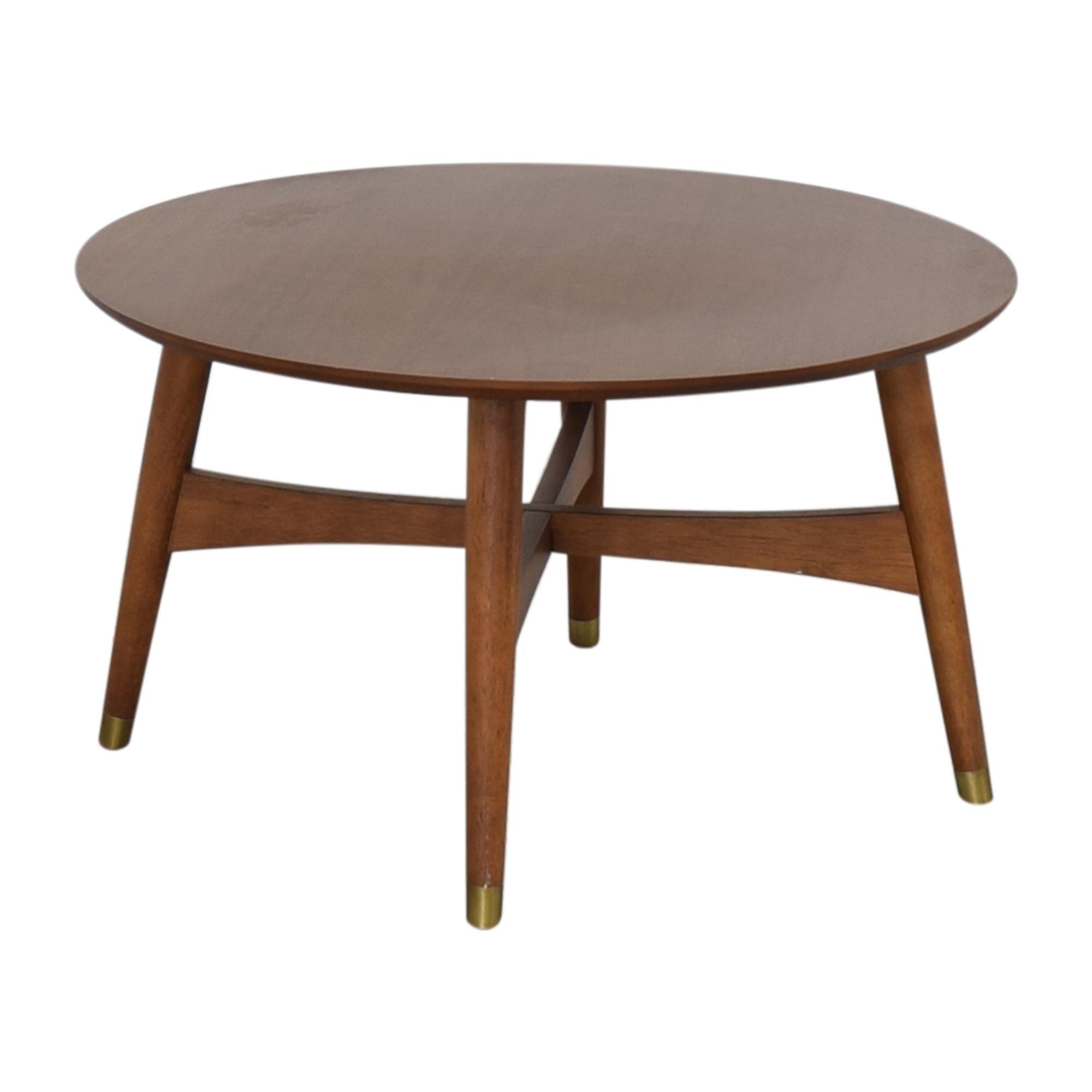 buy West Elm Reeve Mid-Century Coffee Table West Elm
