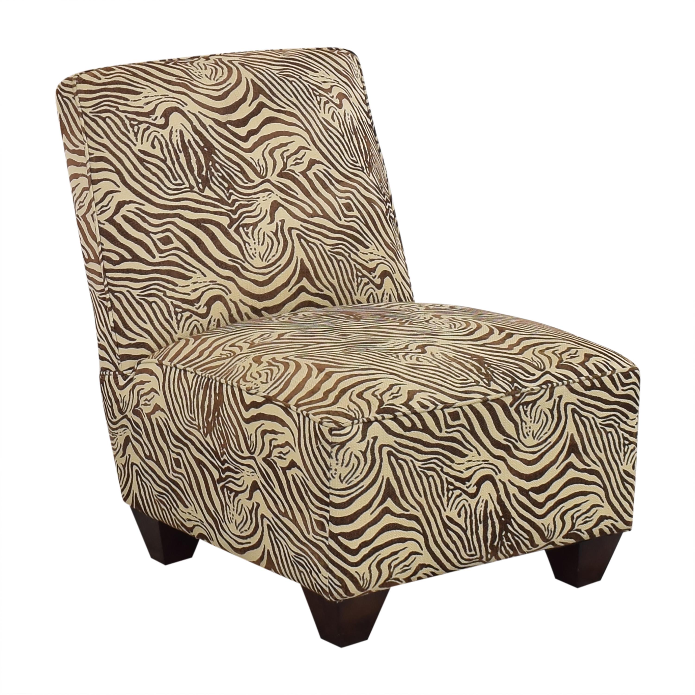 Animal Print Slipper Chair ct