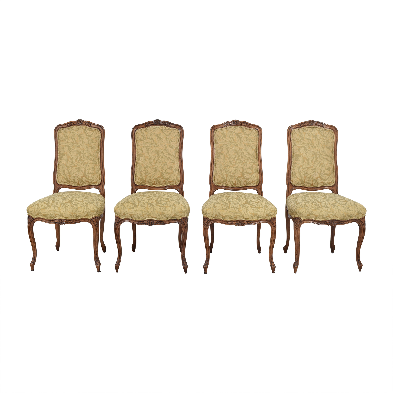 shop Fremarc Designs Fremarc Designs Carved Upholstered Dining Chairs online