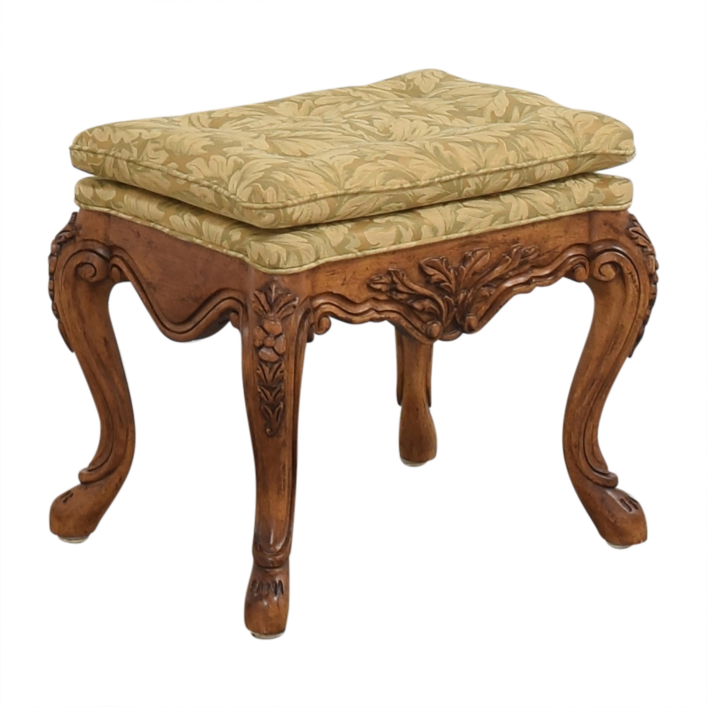 shop Fremarc Designs Upholstered Ottoman Fremarc Designs