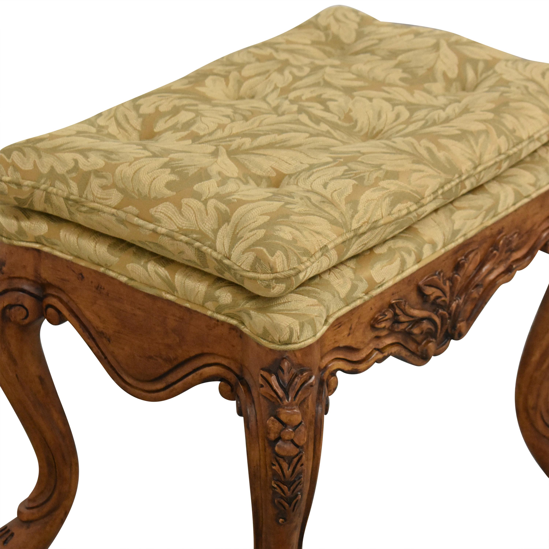 Fremarc Designs Upholstered Ottoman / Storage