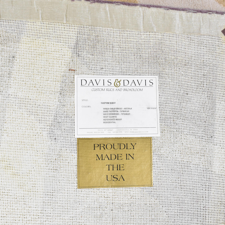 Davis & Davis Davis & Davis Patterned Area Rug dimensions