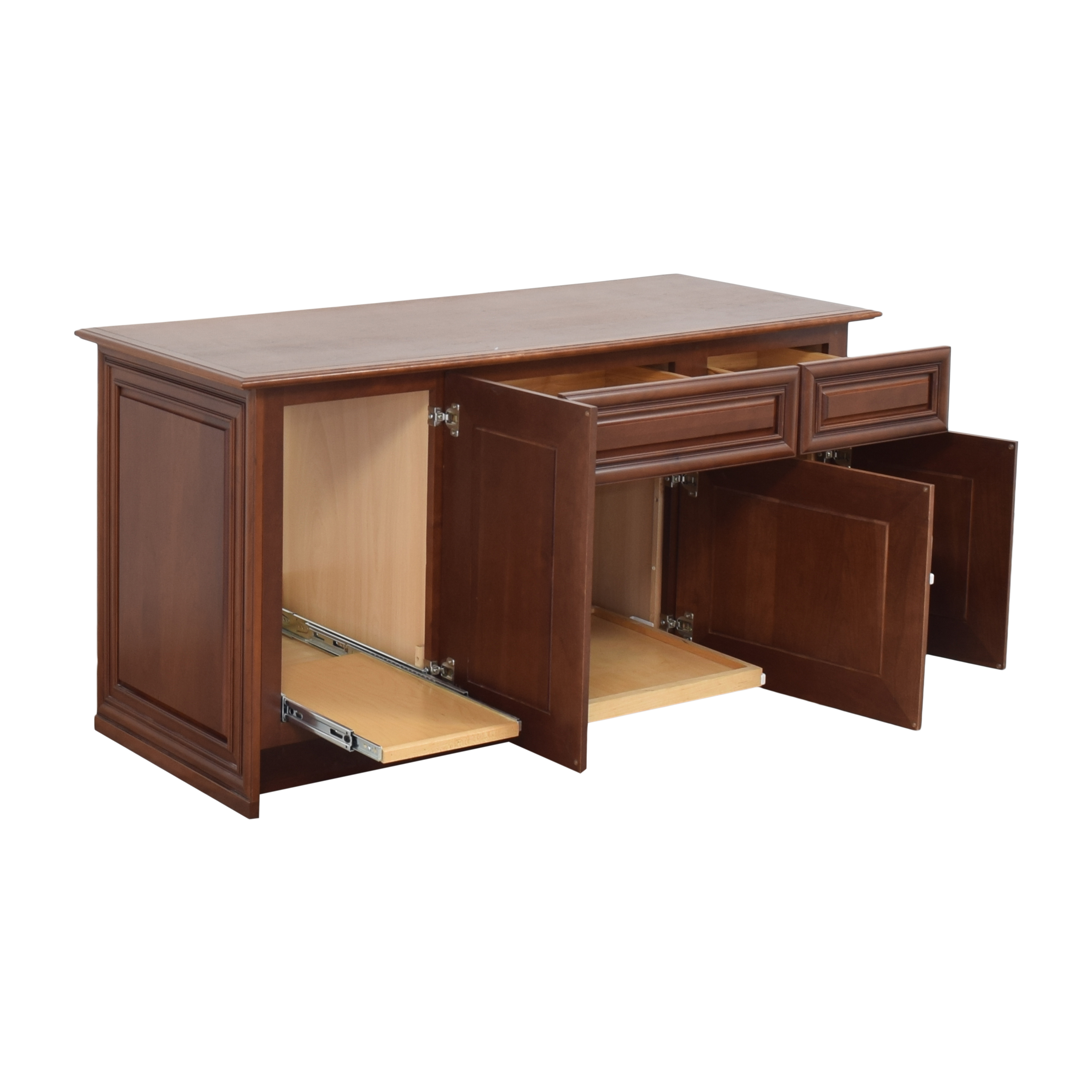 shop Yorktowne Cabinetry Office Credenza Yorktowne Cabinetry Cabinets & Sideboards