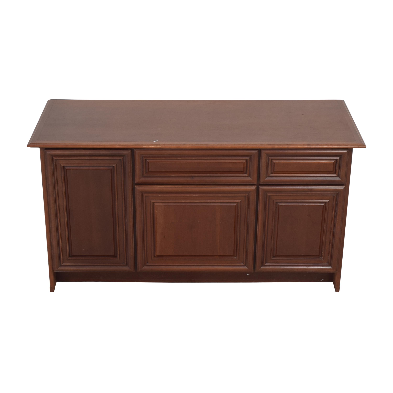 Yorktowne Cabinetry Yorktowne Cabinetry Office Credenza Storage