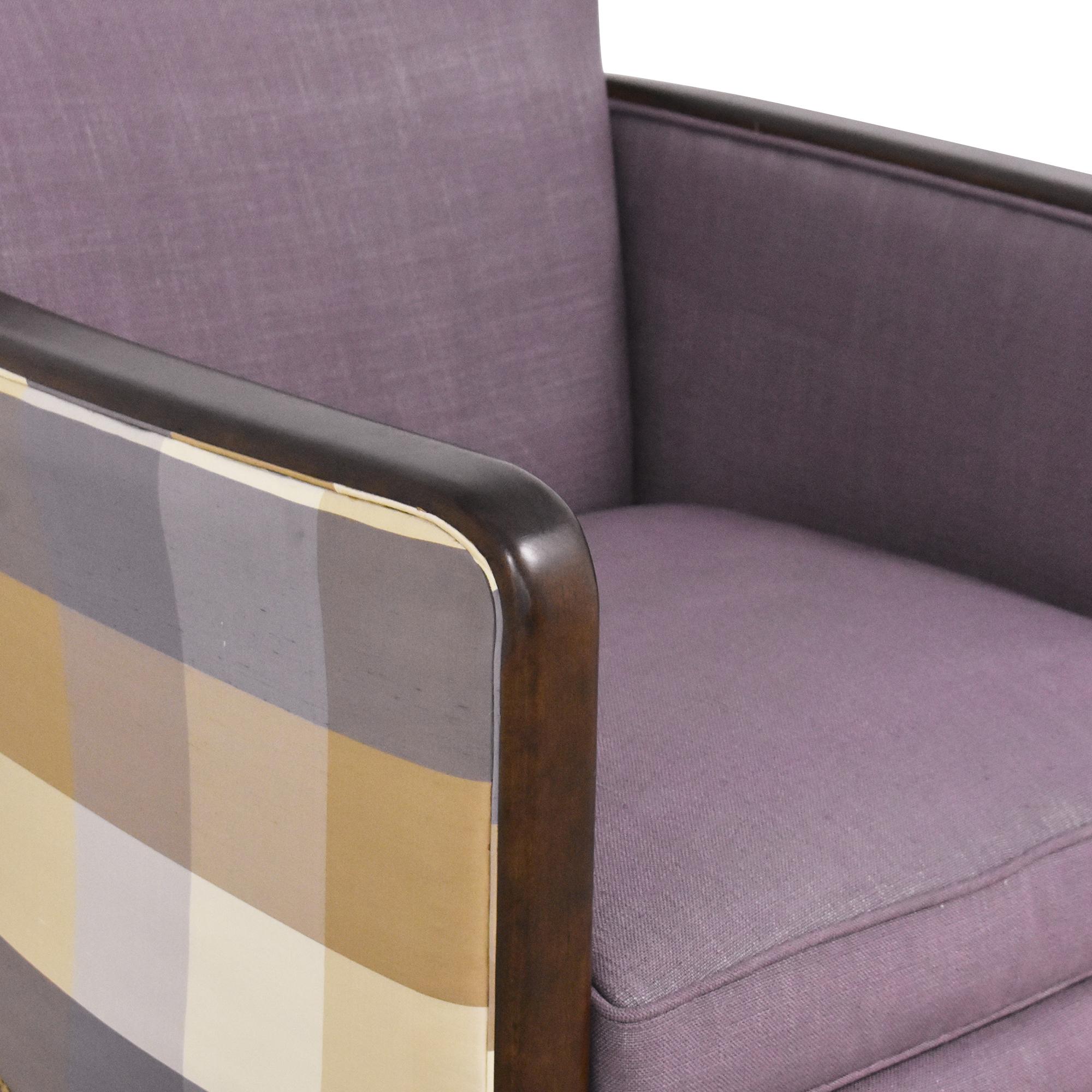 Kravet Kravet Plaid Back Accent Chair coupon