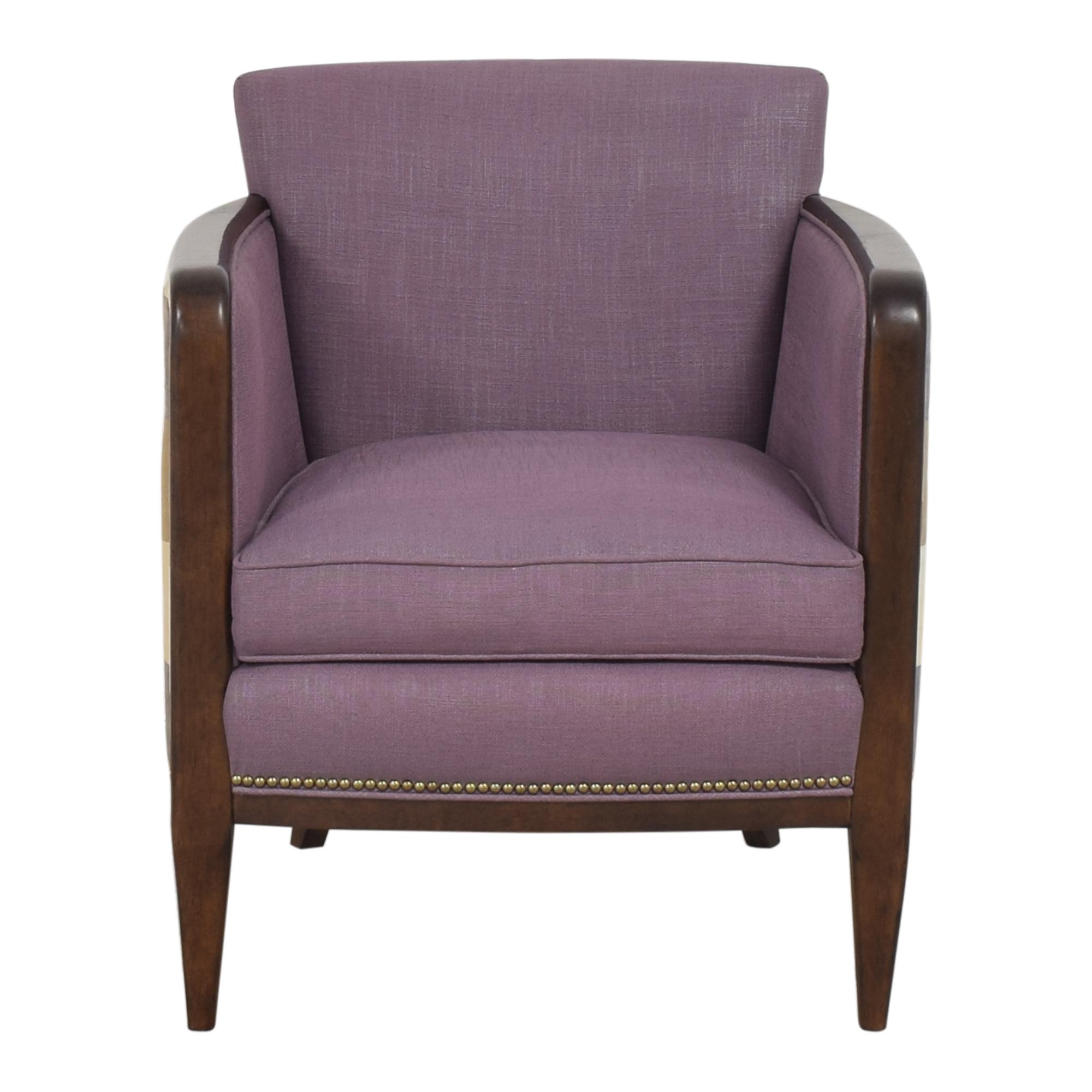 Kravet Kravet Plaid Back Accent Chair on sale