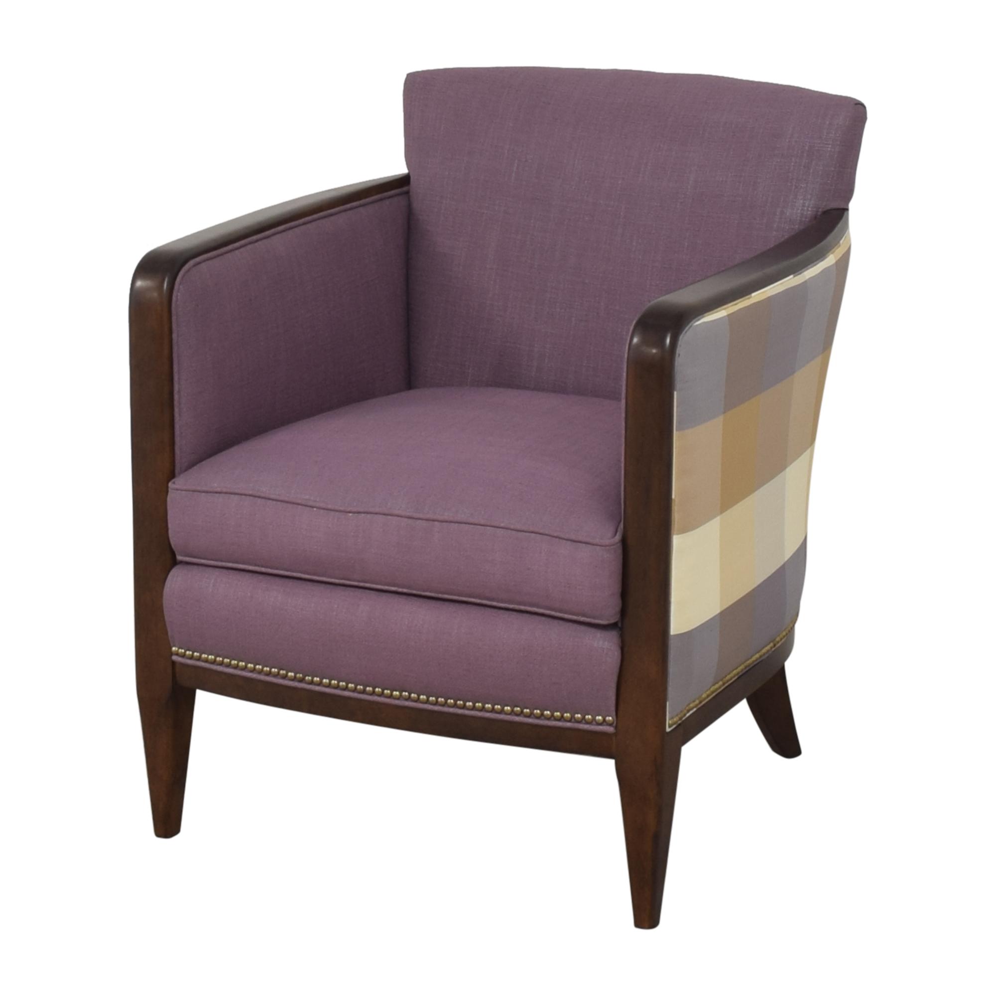 Kravet Kravet Plaid Back Accent Chair nyc