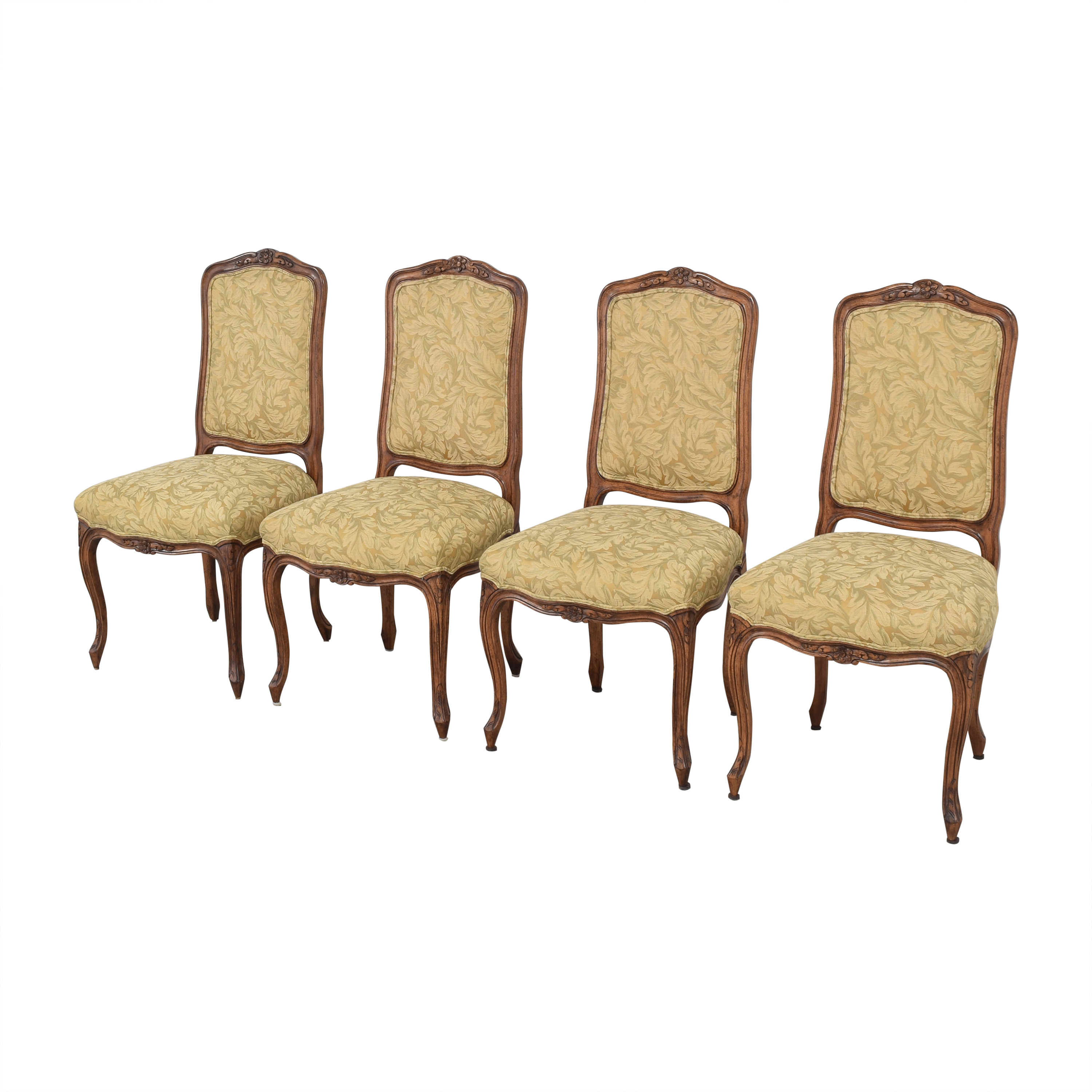 Fremarc Designs Fremarc Designs Carved Upholstered Dining Chairs discount