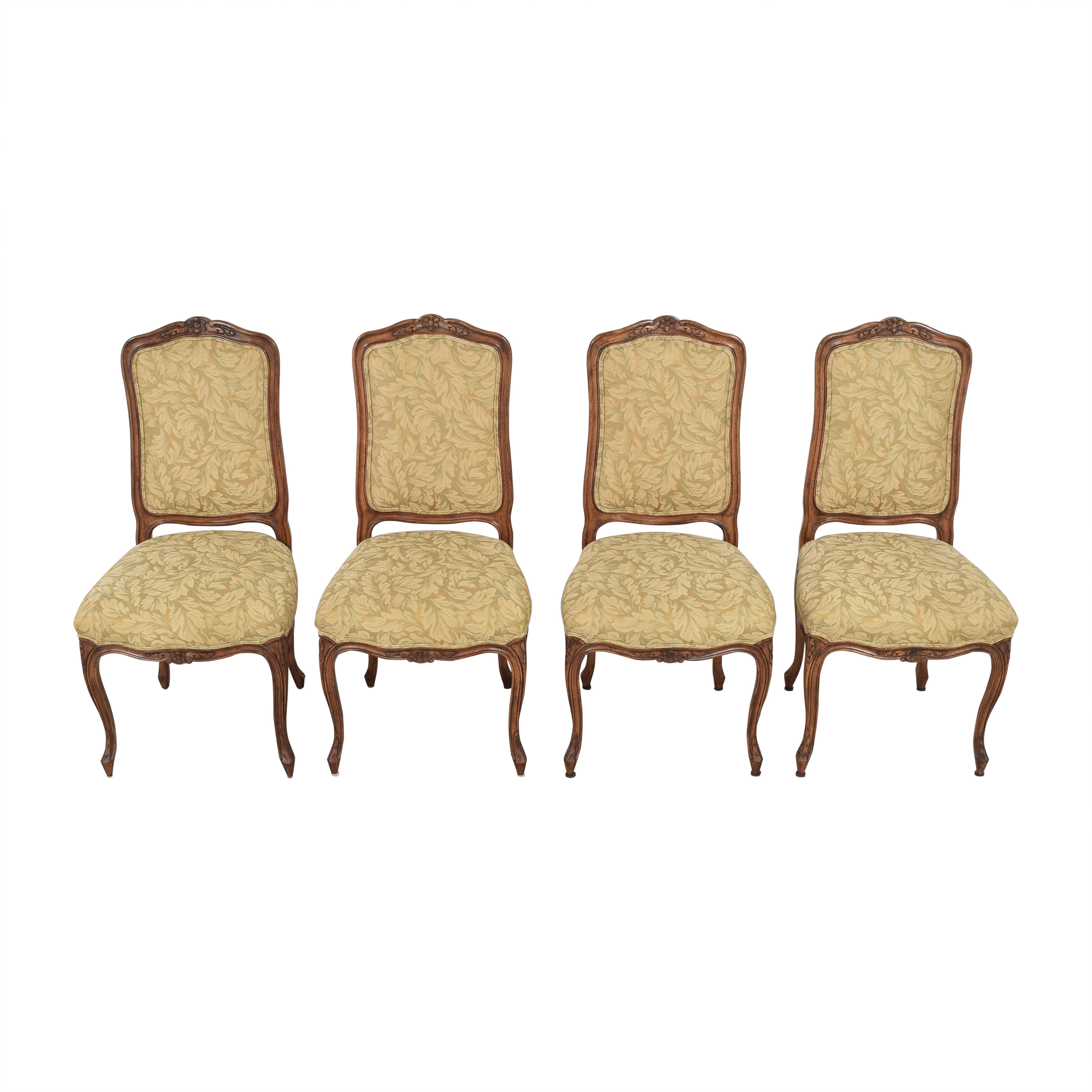Fremarc Designs Carved Upholstered Dining Chairs Fremarc Designs