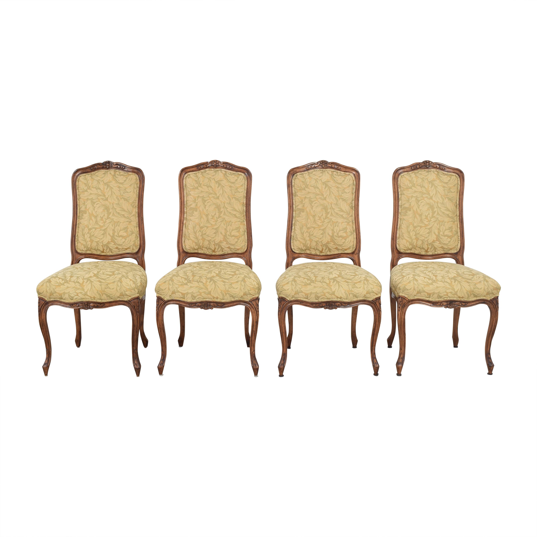 buy Fremarc Designs Carved Upholstered Dining Chairs Fremarc Designs Chairs