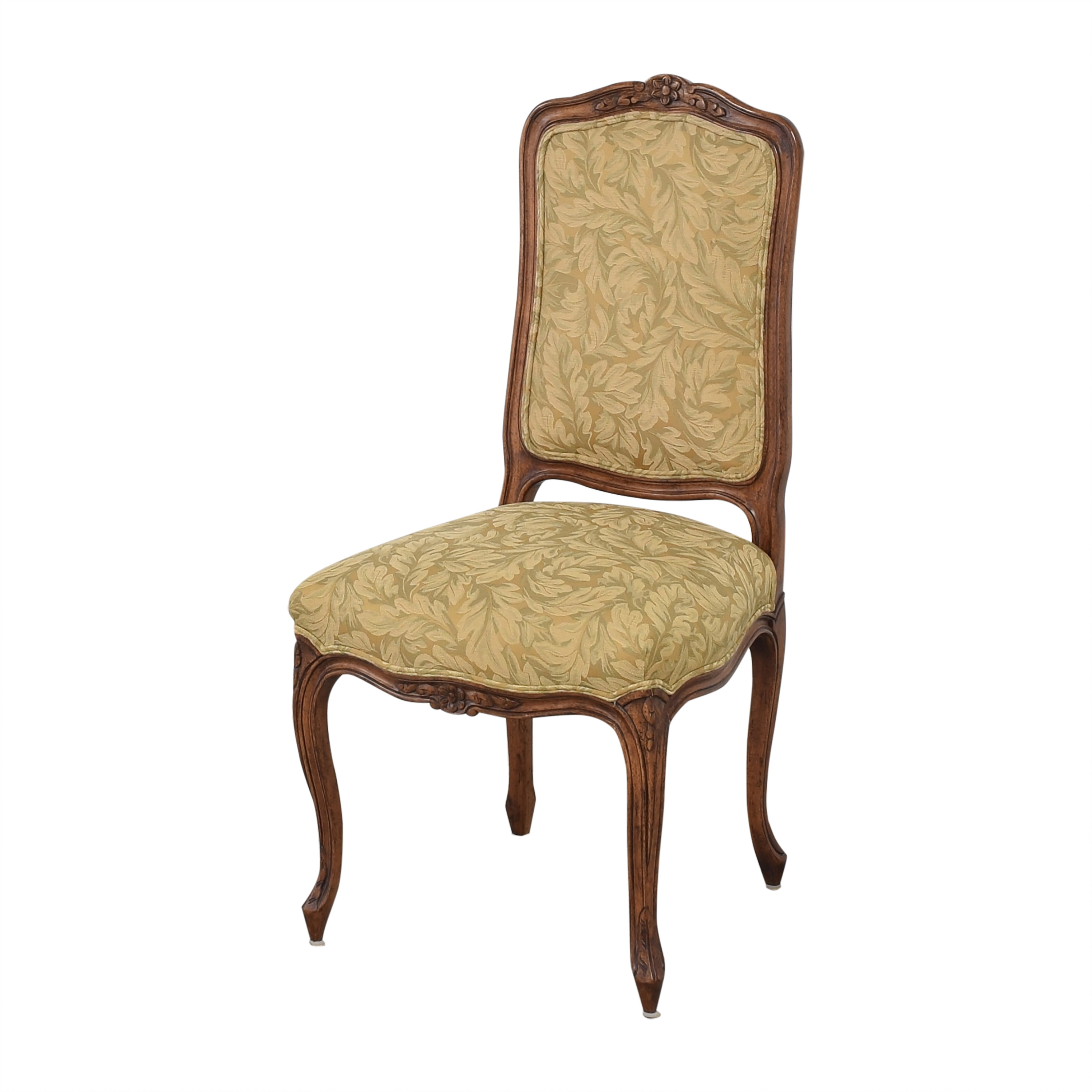 Fremarc Designs Fremarc Designs Carved Upholstered Dining Chairs Chairs
