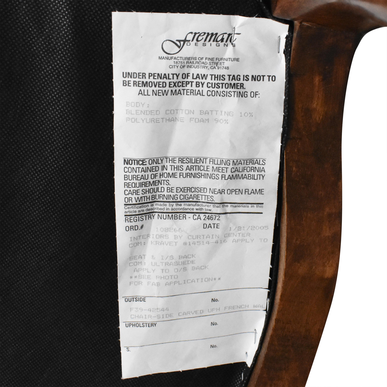 shop Fremarc Designs Carved Upholstered Dining Chairs Fremarc Designs Dining Chairs