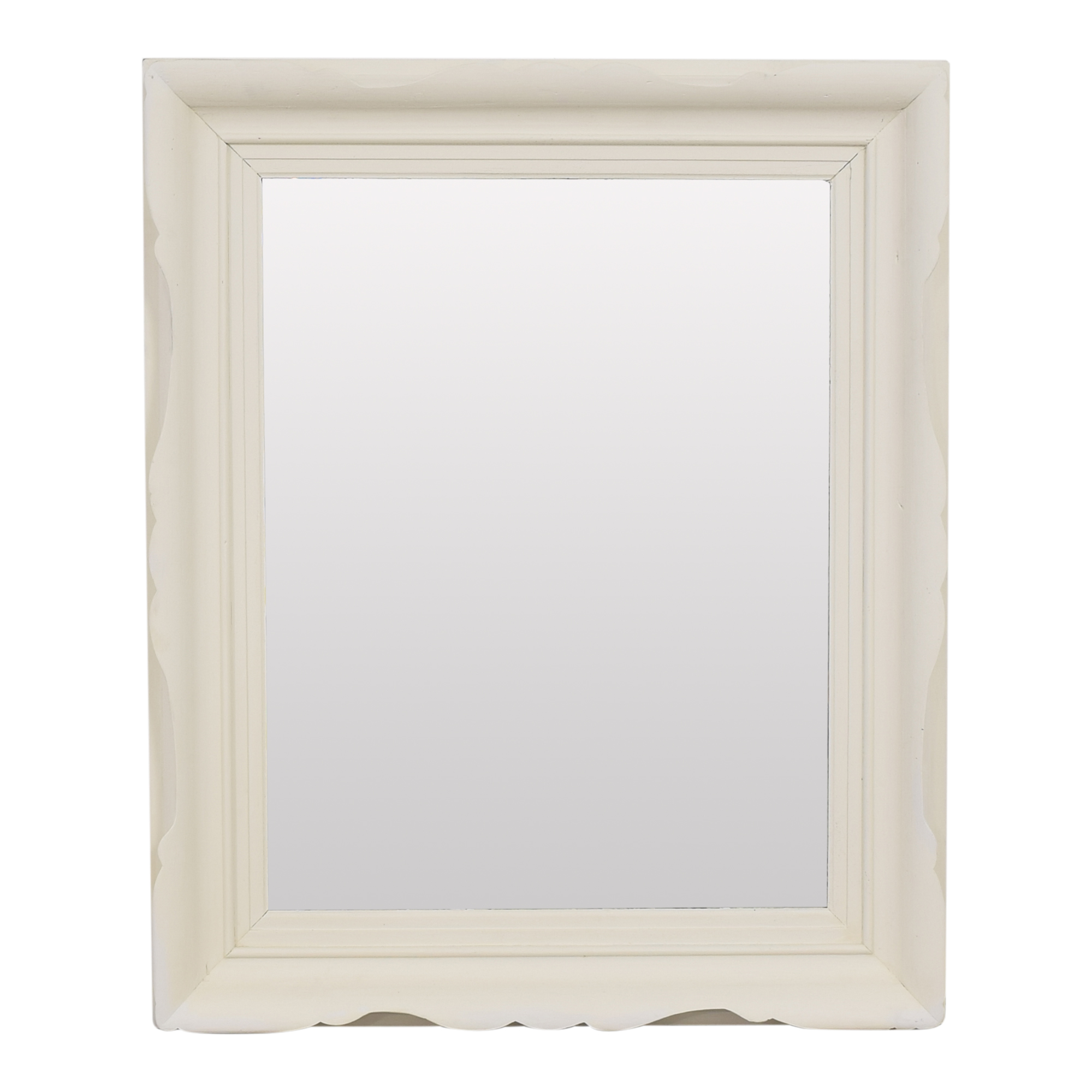 Scalloped Frame Wall Mirror nyc